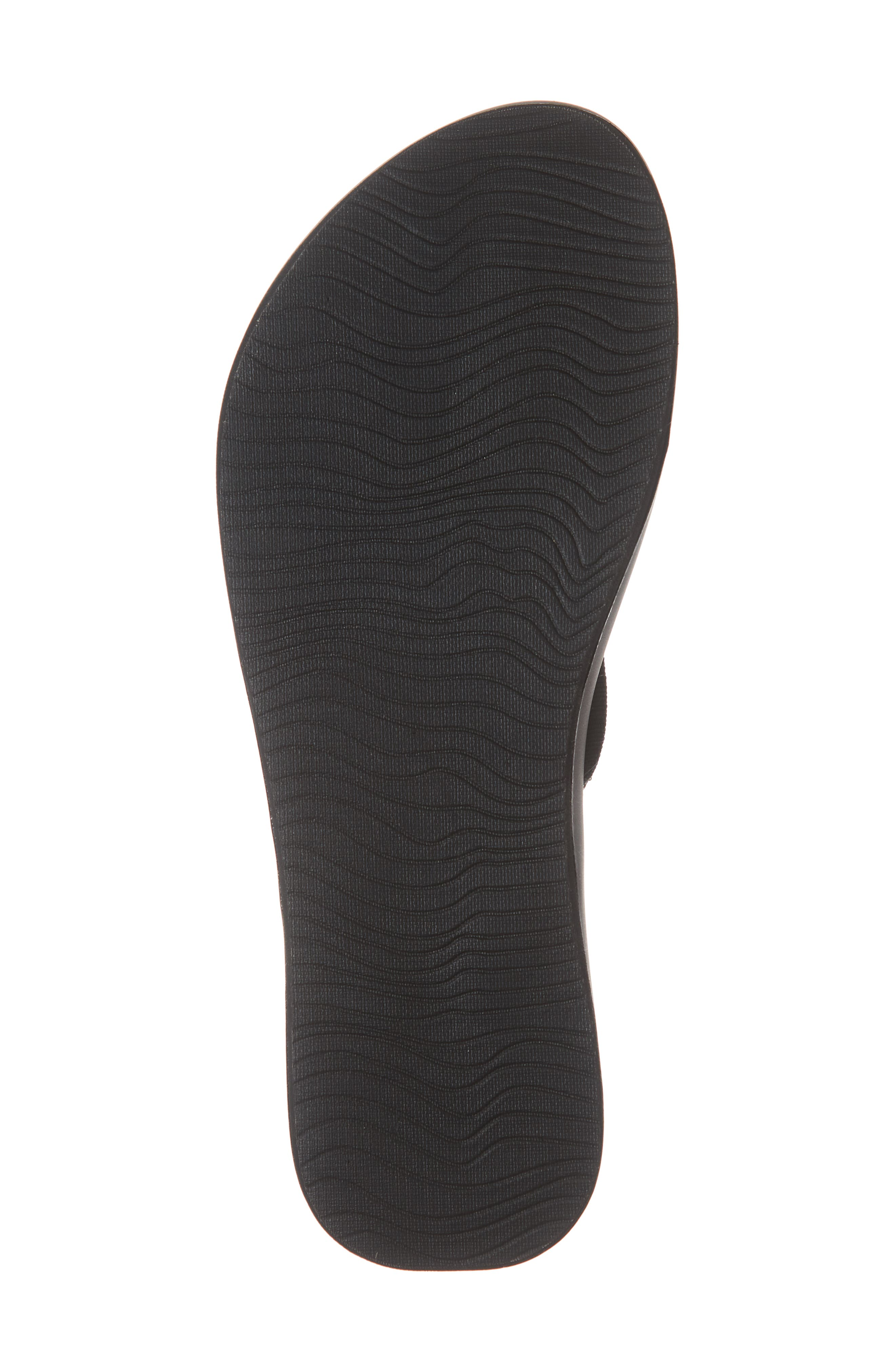Cushion Bounce Flip Flop,                             Alternate thumbnail 6, color,                             BLACK