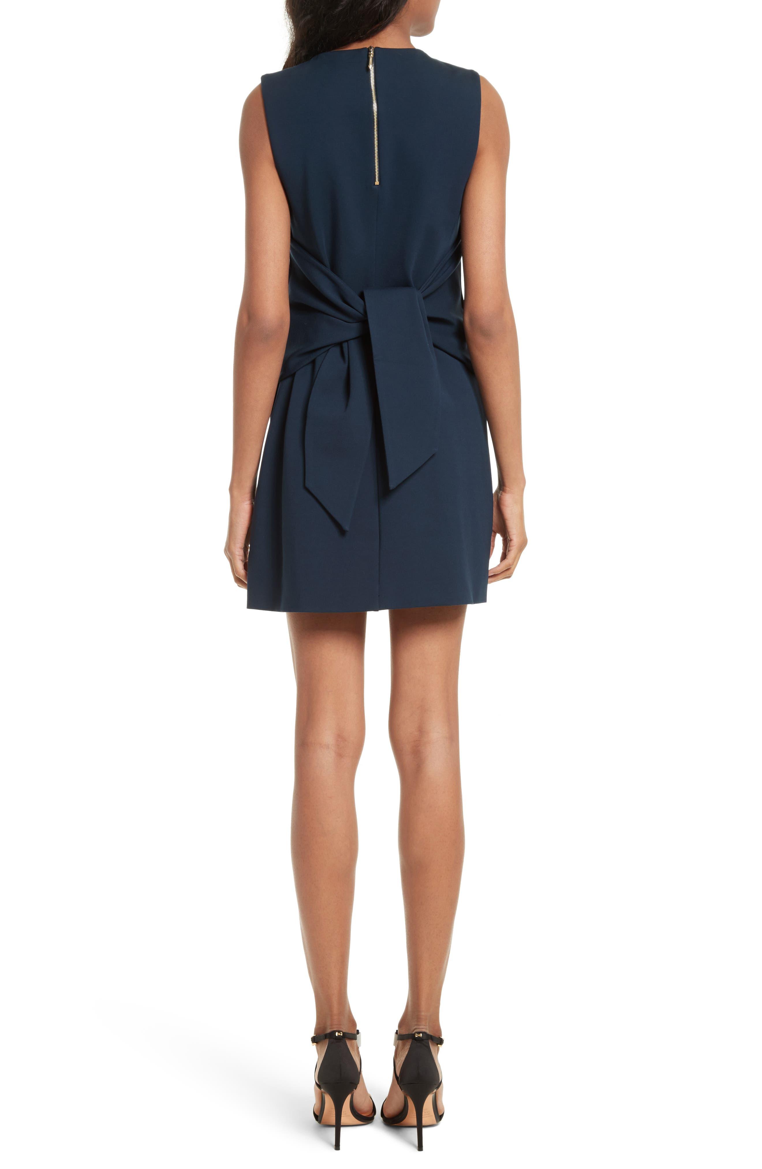 Papron Tie Front Dress,                             Alternate thumbnail 2, color,                             410