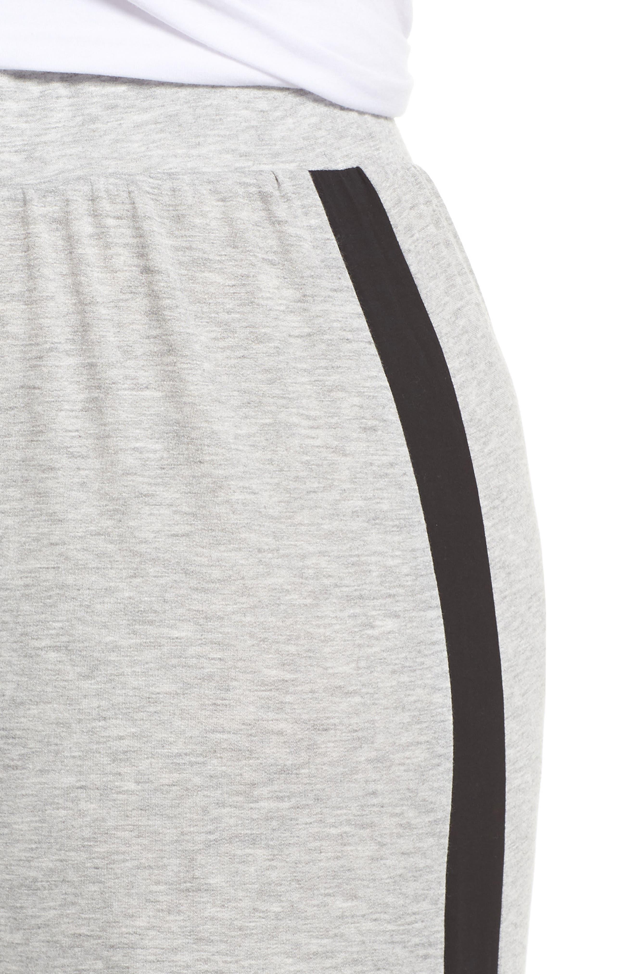 BP.,                             Sport High Rise Wide Leg Crop Pants,                             Alternate thumbnail 4, color,                             021