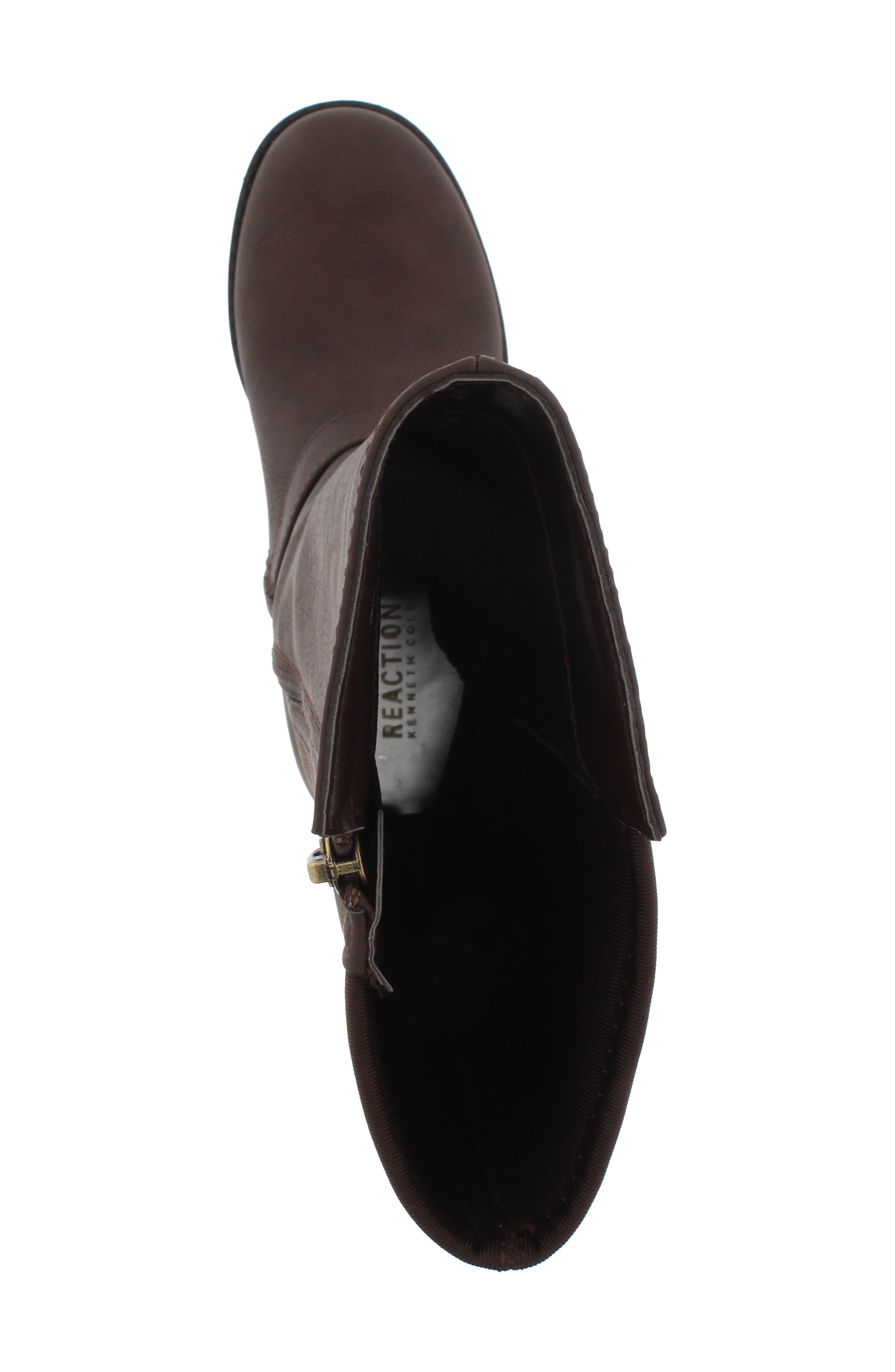 Kennedy Queen Boot,                             Alternate thumbnail 5, color,                             BROWN