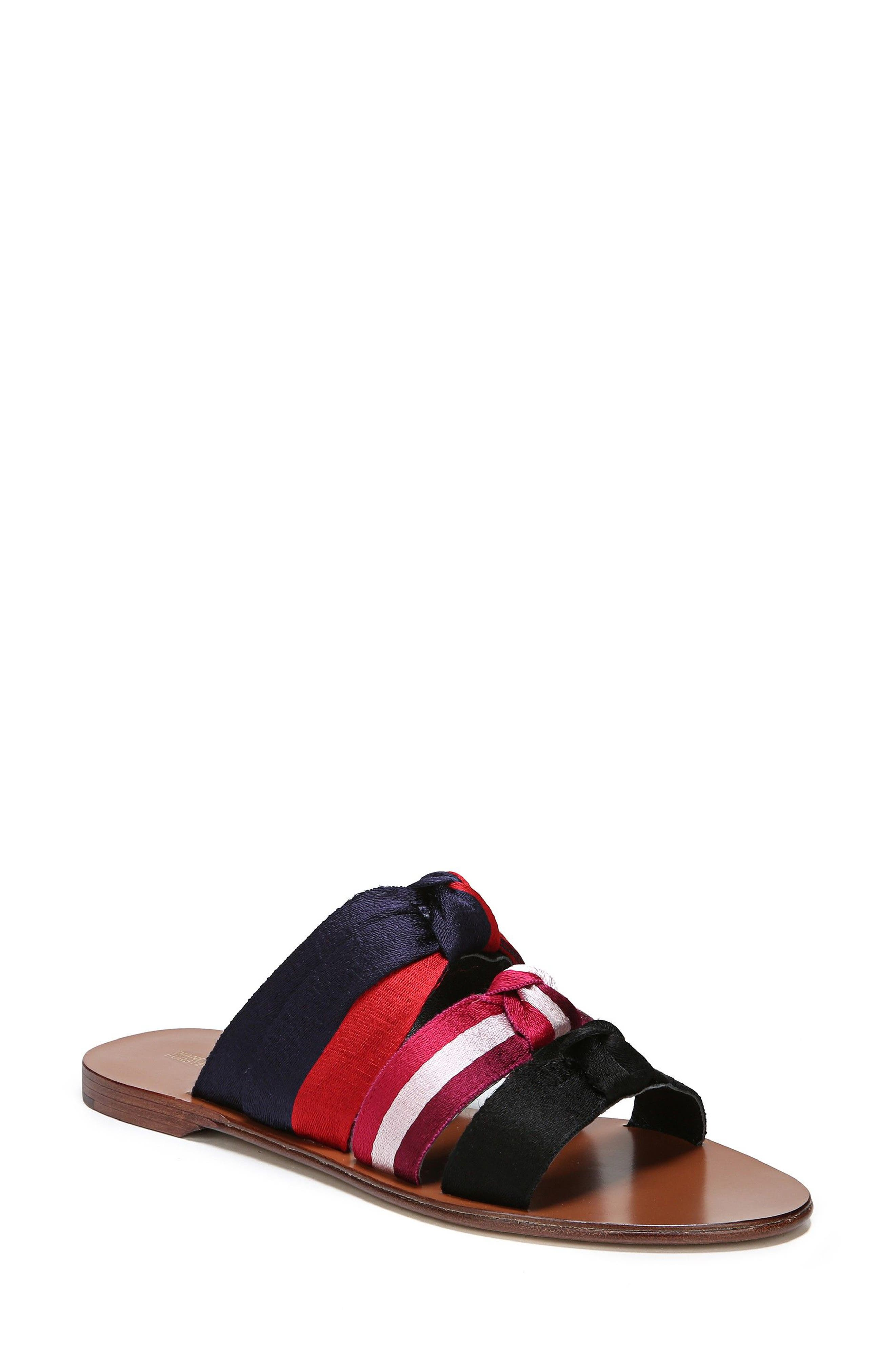 Bree Strappy Slide Sandal,                             Main thumbnail 1, color,                             002