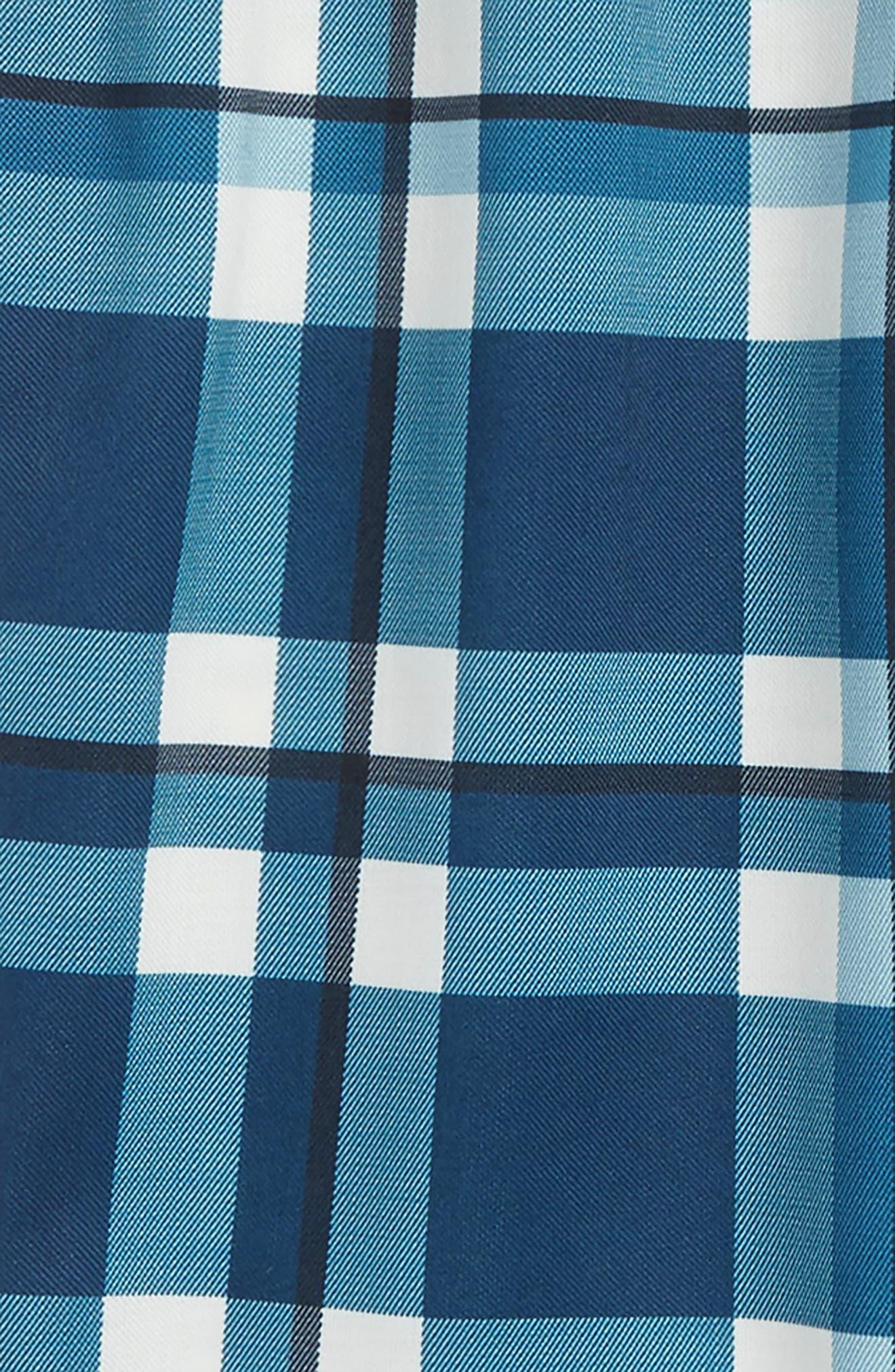 TUCKER + TATE,                             Flannel Jogger Pants,                             Alternate thumbnail 2, color,                             BLUE WING- IVORY PLAID