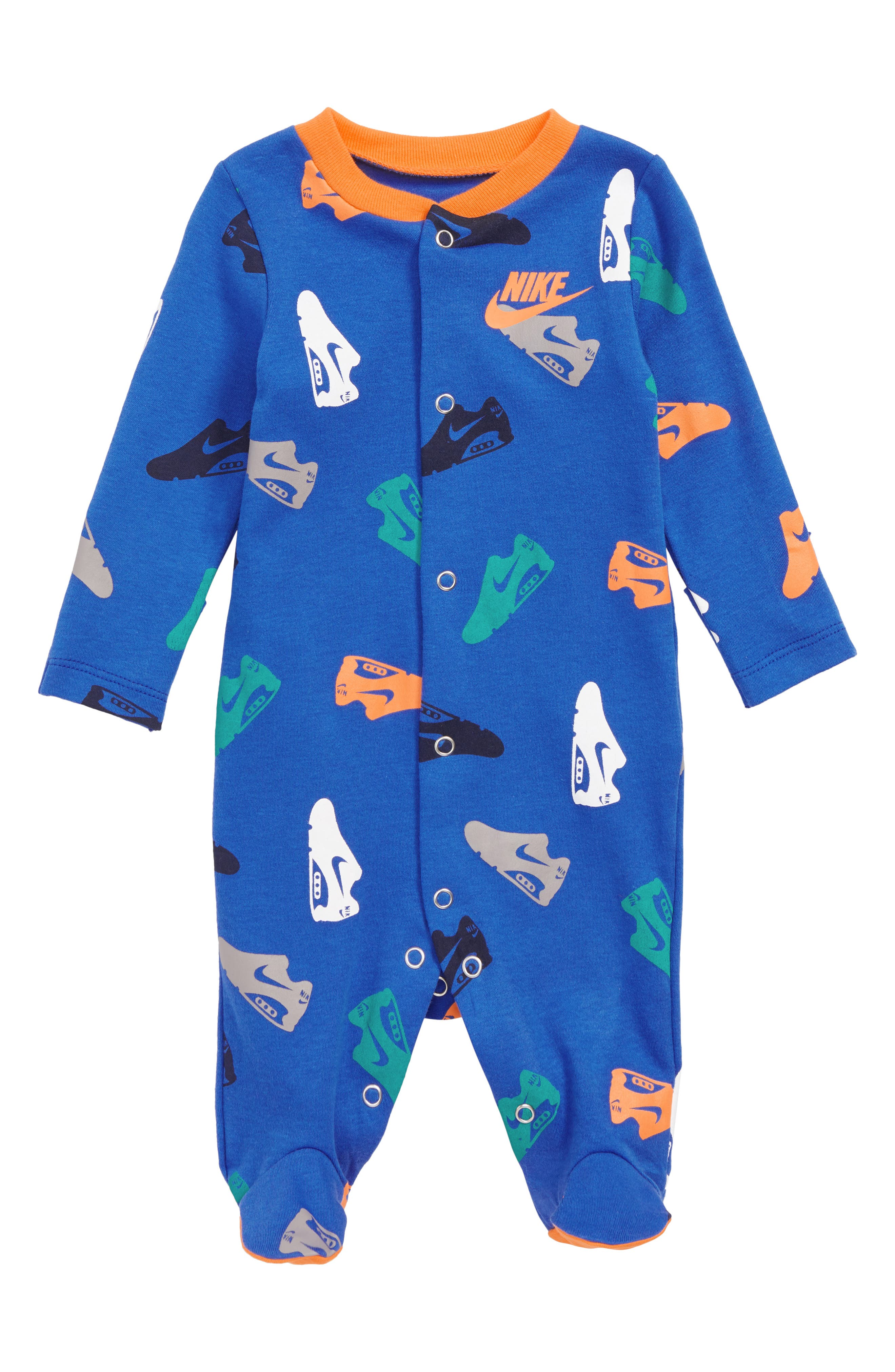 Shoe Footed Coveralls,                             Main thumbnail 2, color,