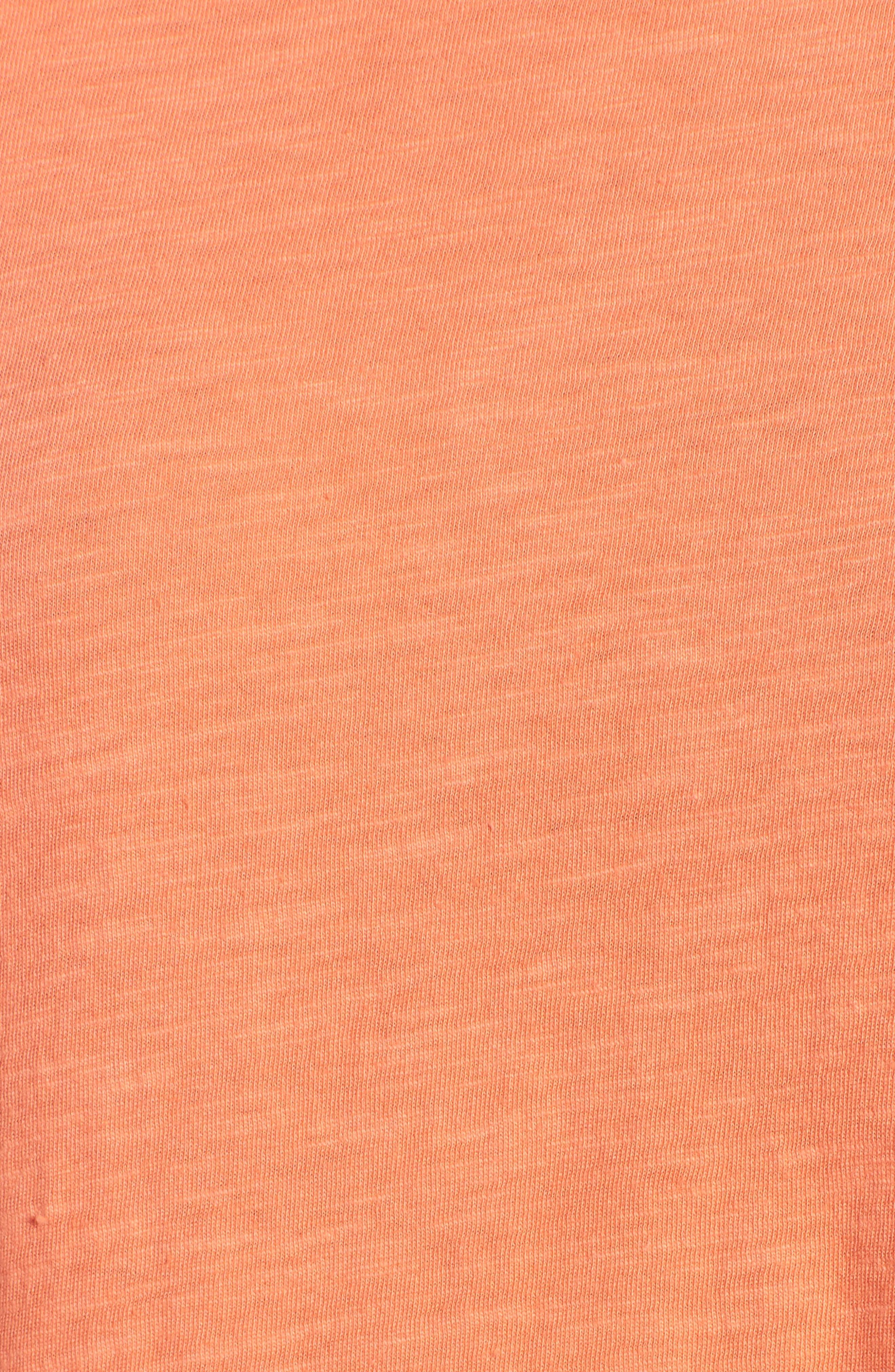 Organic Cotton Knit Top,                             Alternate thumbnail 45, color,