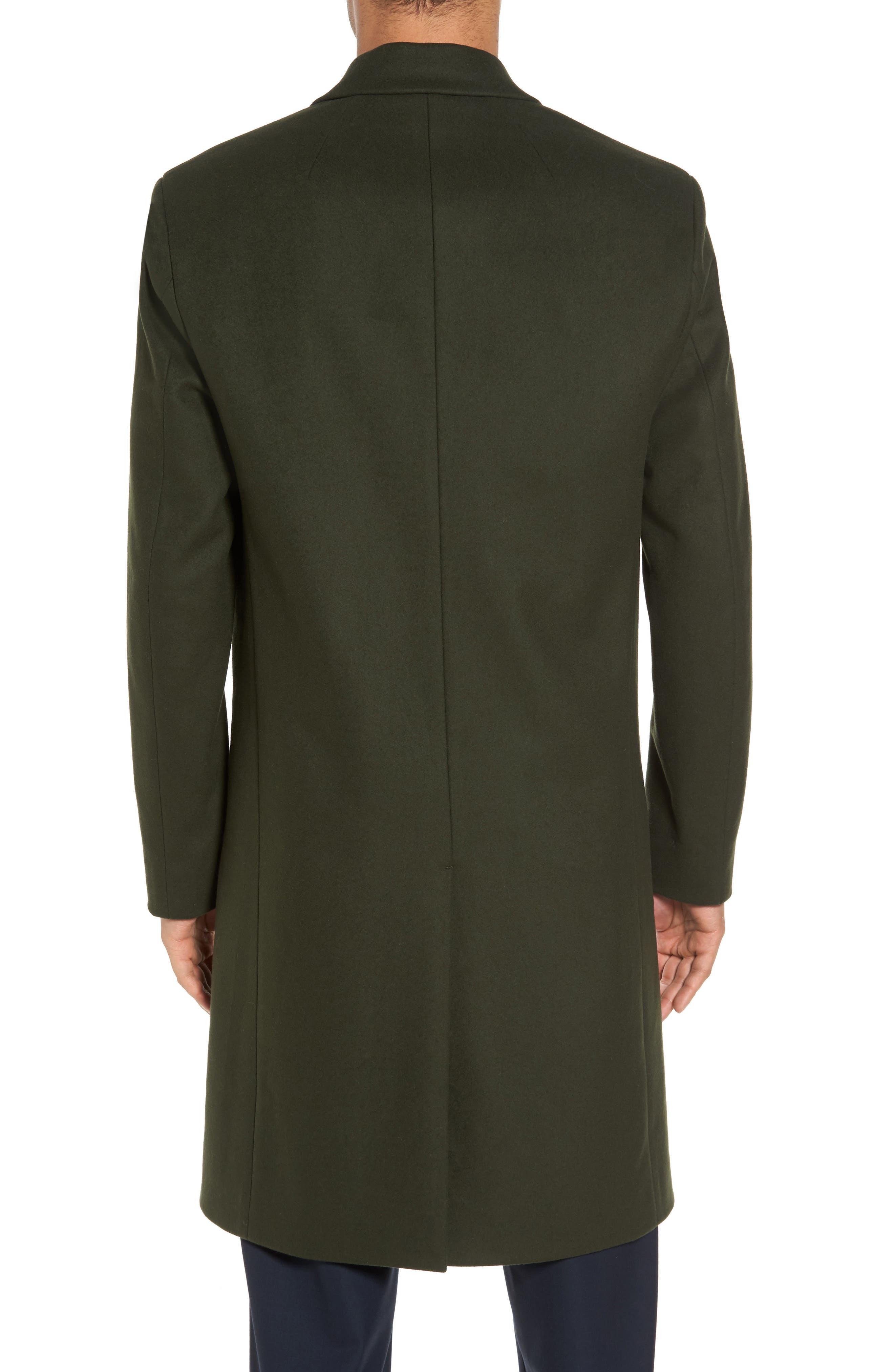 Bower Melton Wool Blend Topcoat,                             Alternate thumbnail 5, color,