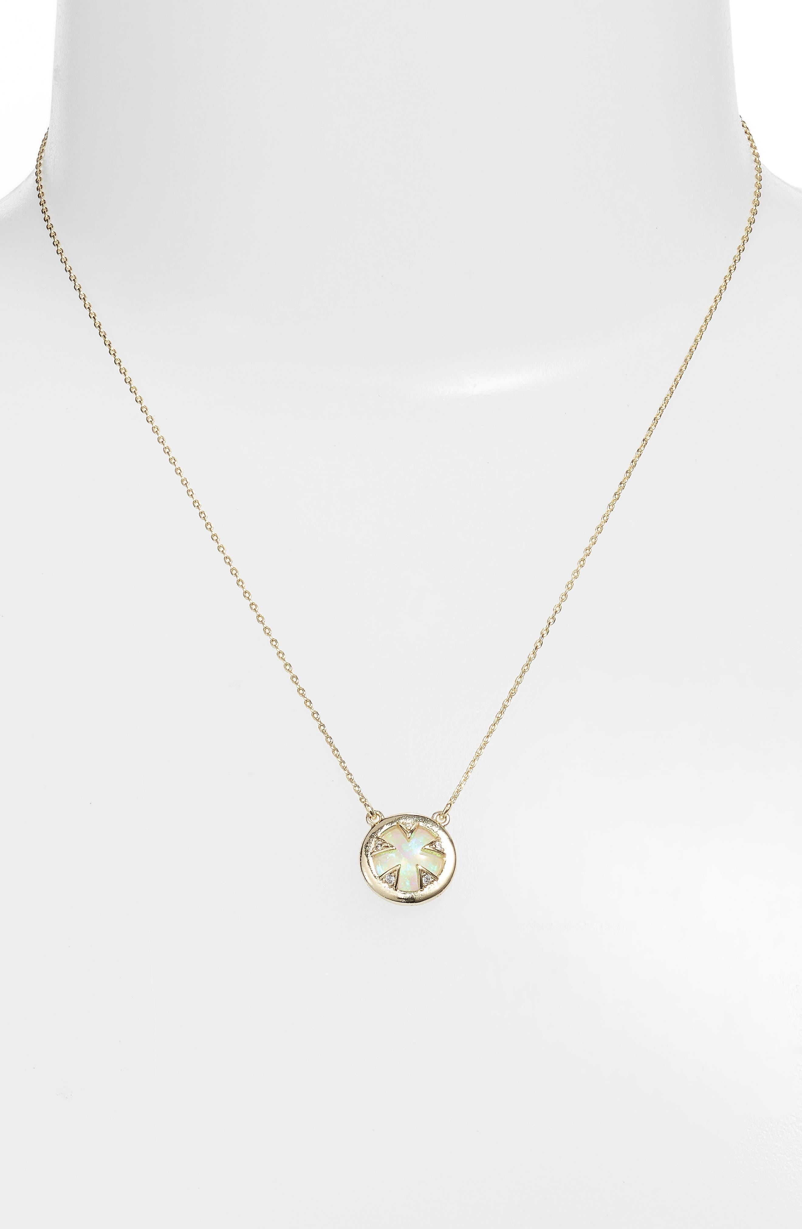 Tessa Mini Necklace,                             Alternate thumbnail 2, color,                             434