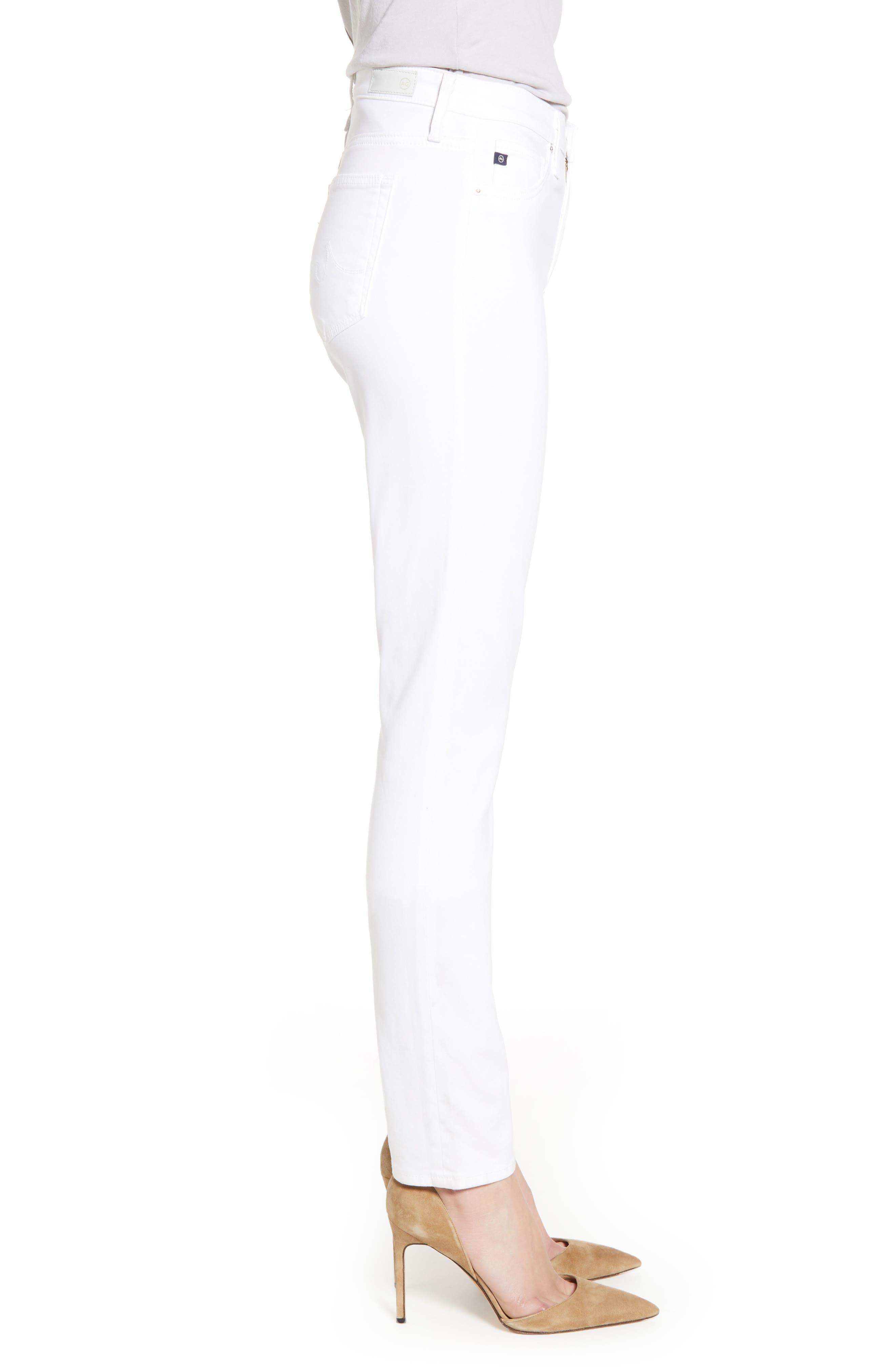 AG,                             'The Prima' Cigarette Leg Skinny Jeans,                             Alternate thumbnail 3, color,                             110
