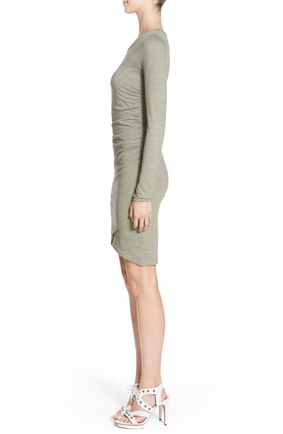 Ruched Long Sleeve Dress,                             Alternate thumbnail 89, color,