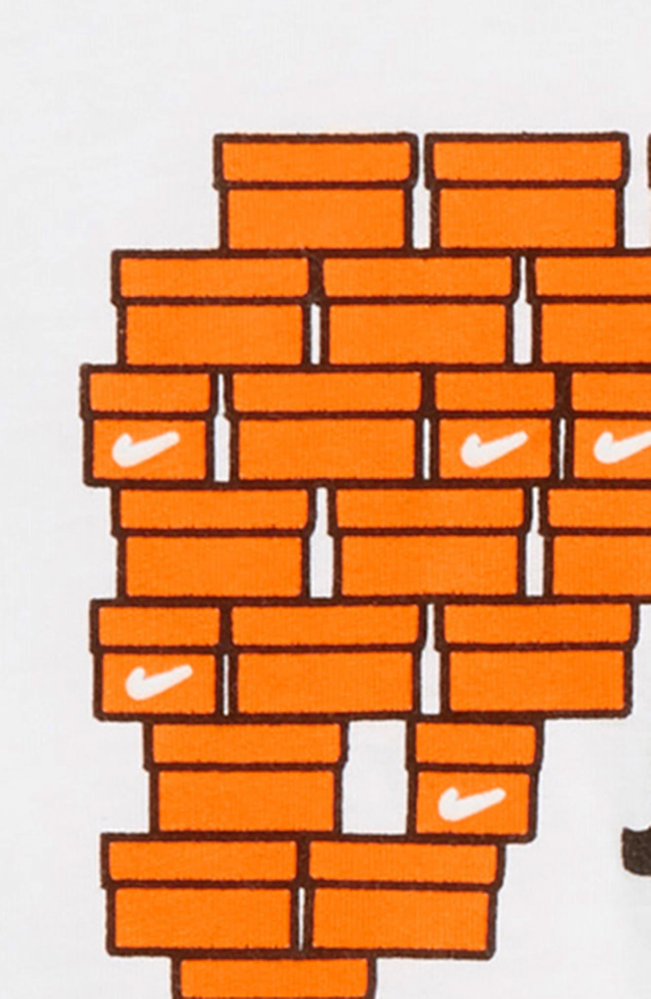 Shoebox Just Do It T-Shirt,                             Alternate thumbnail 2, color,                             WHITE/ CONE