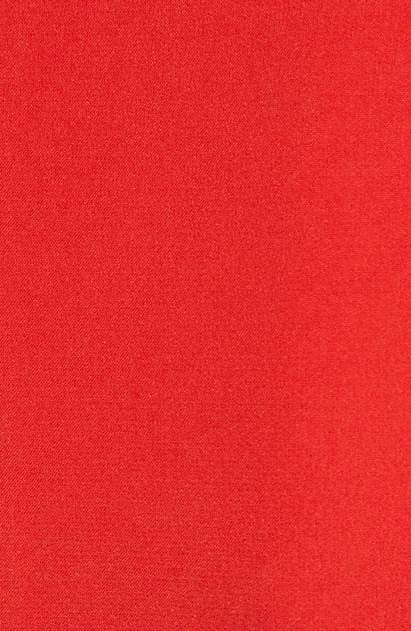 Lennon Zip Detail Minidress,                             Alternate thumbnail 5, color,                             618