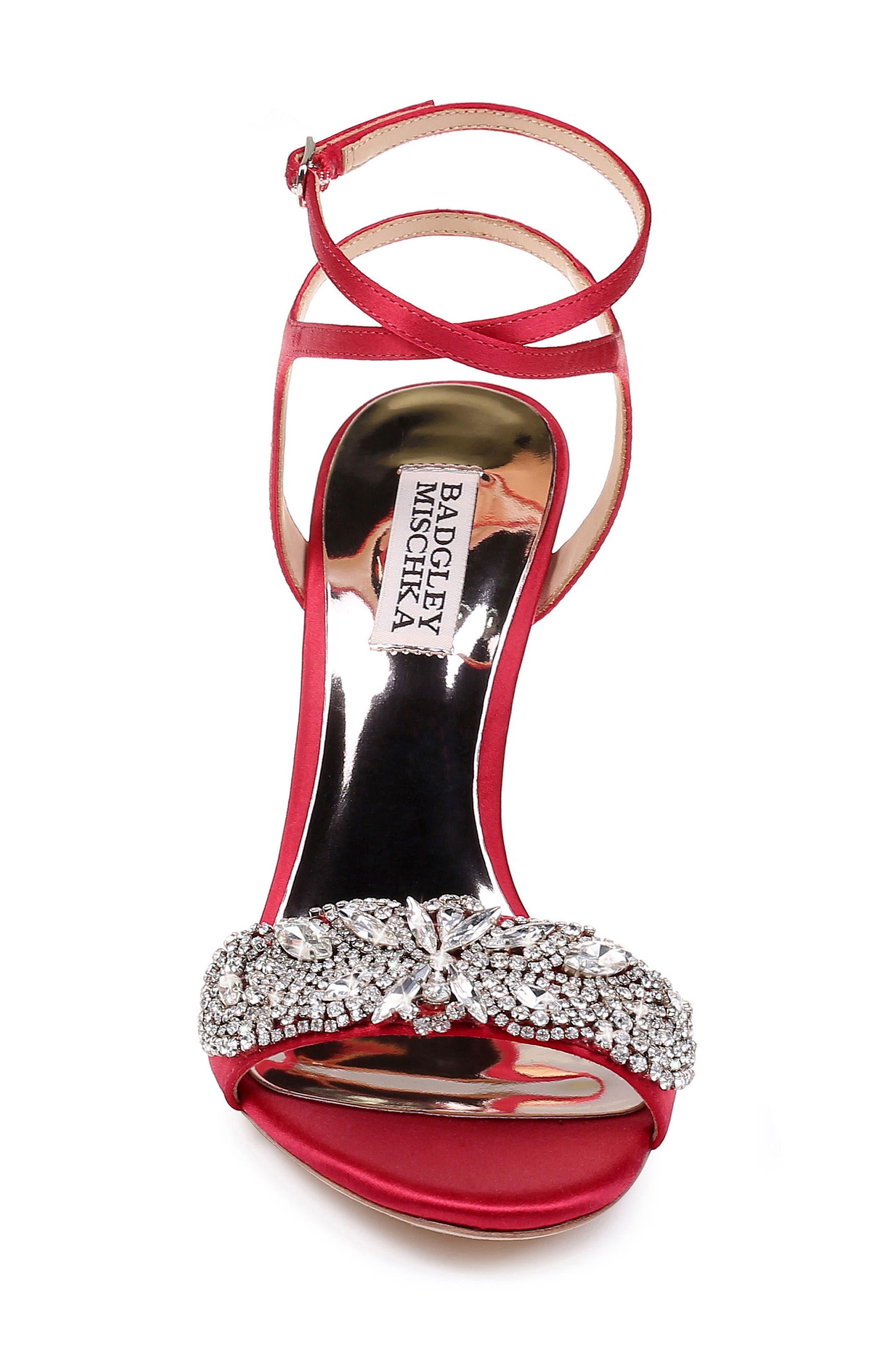 Hailey Embellished Ankle Strap Sandal,                             Alternate thumbnail 22, color,
