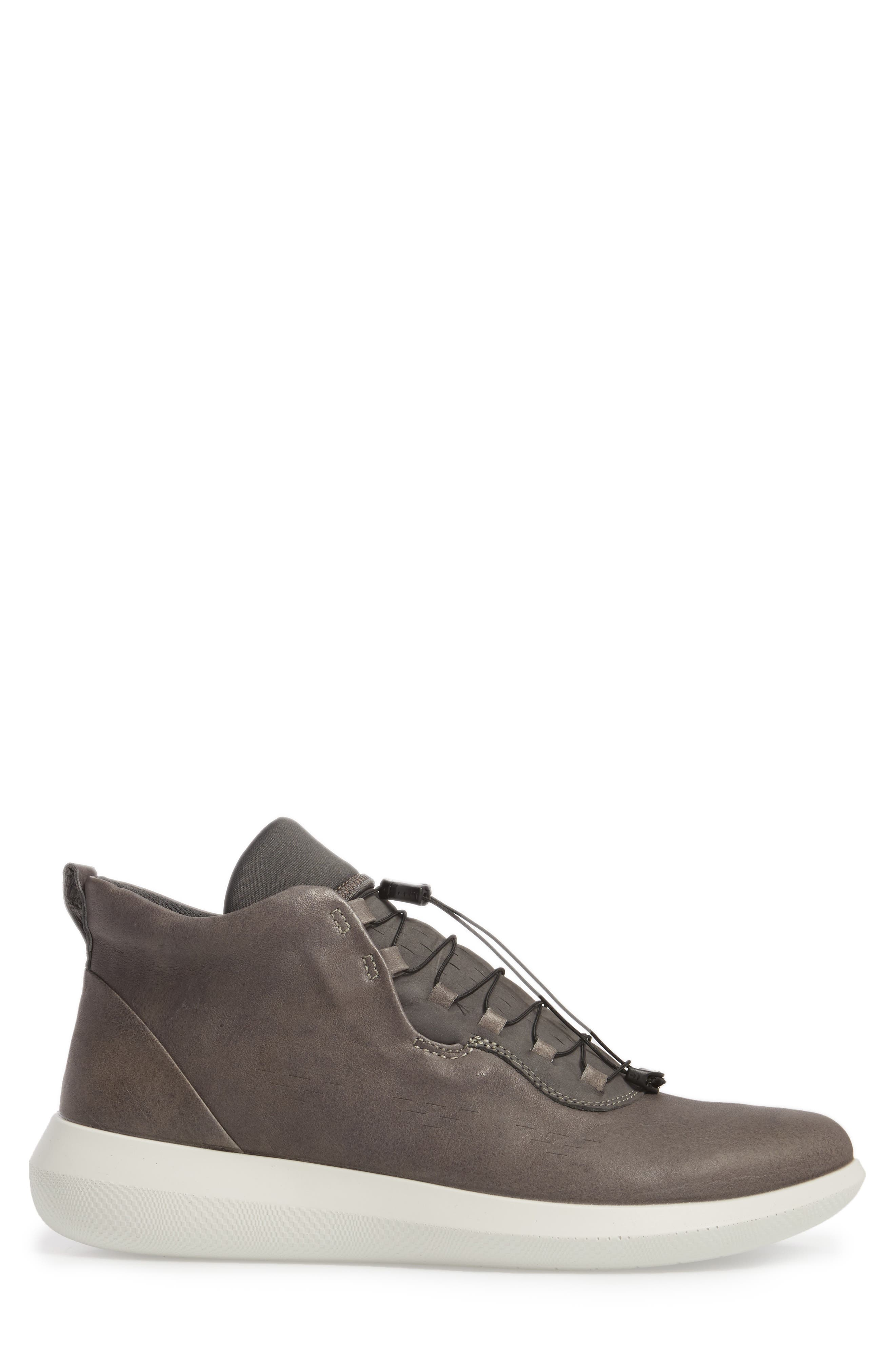 Scinapse High Top Sneaker,                             Alternate thumbnail 3, color,                             WILD DOVE LEATHER