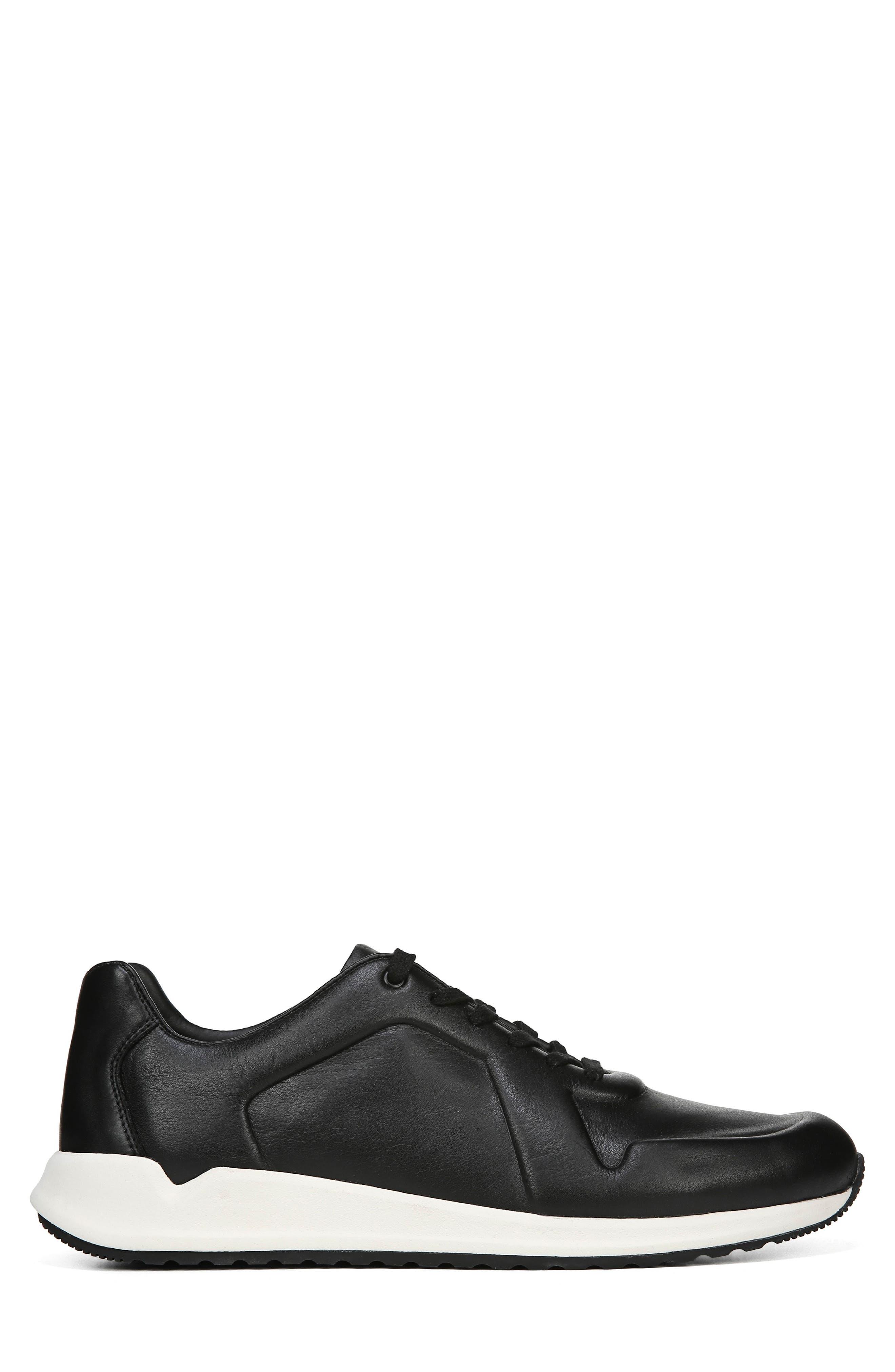 Garrett Sneaker,                             Alternate thumbnail 3, color,                             BLACK/ BLACK