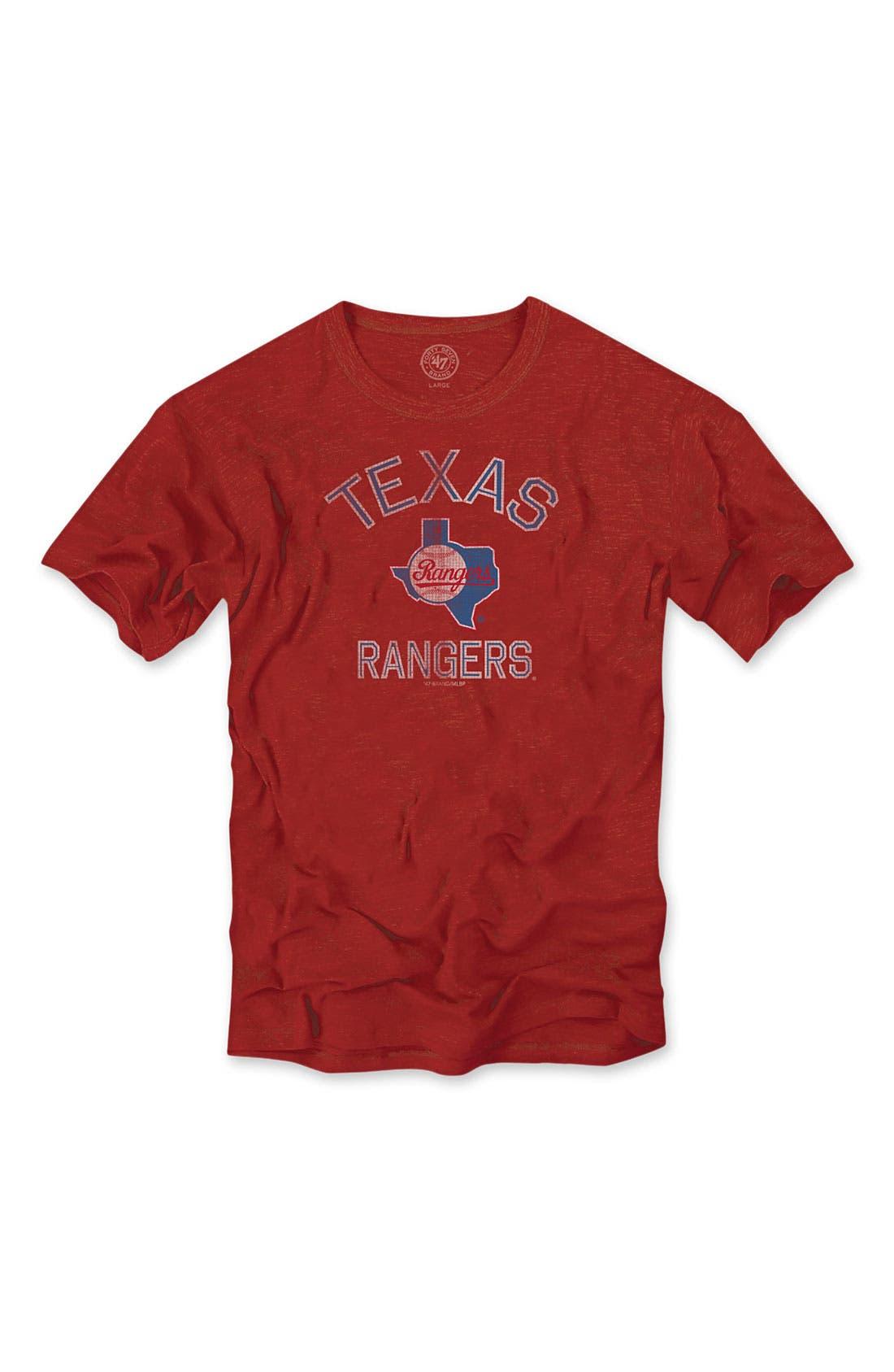 'Chicago Cubs' Regular Fit Crewneck T-Shirt,                             Main thumbnail 5, color,