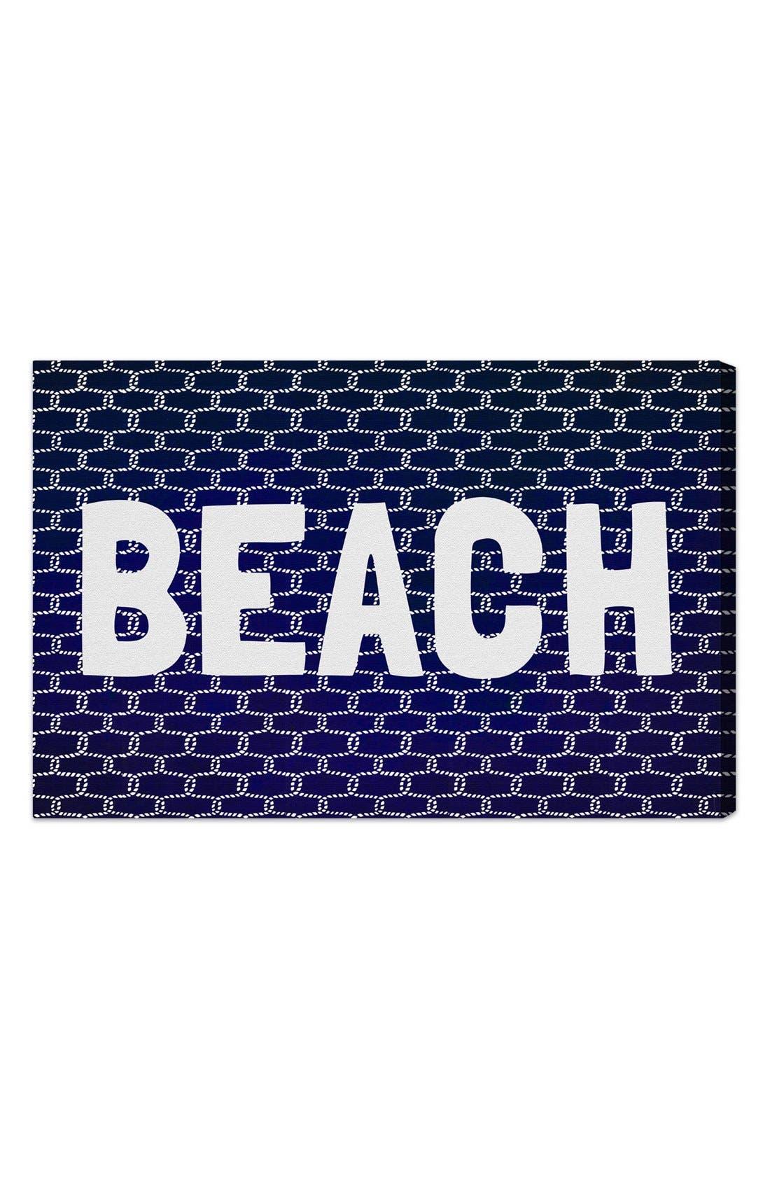 'Beach Knot' Wall Art,                             Main thumbnail 1, color,                             400