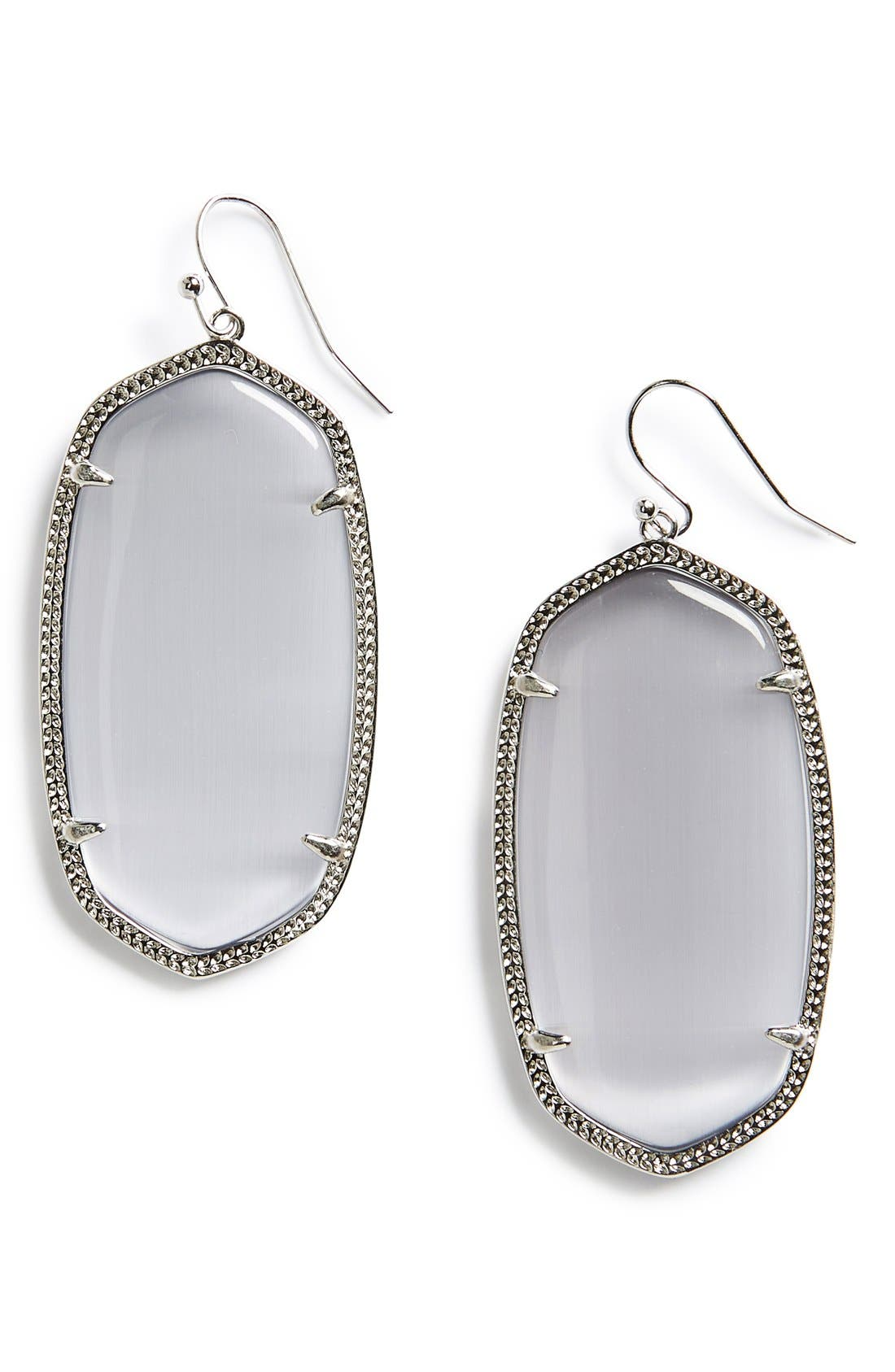 Danielle - Large Oval Statement Earrings,                             Main thumbnail 2, color,