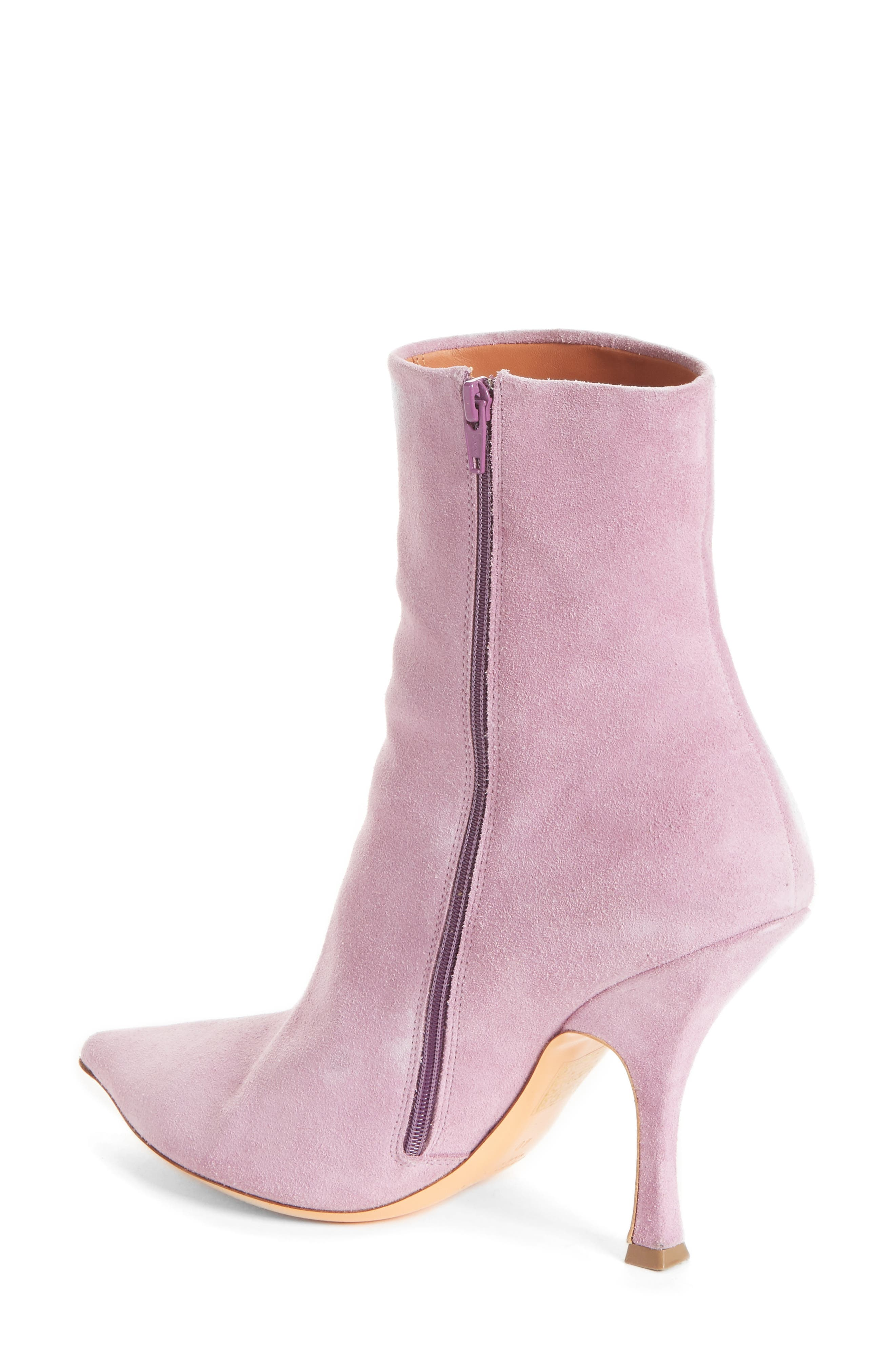 Suede Ankle Boot,                             Alternate thumbnail 2, color,                             500