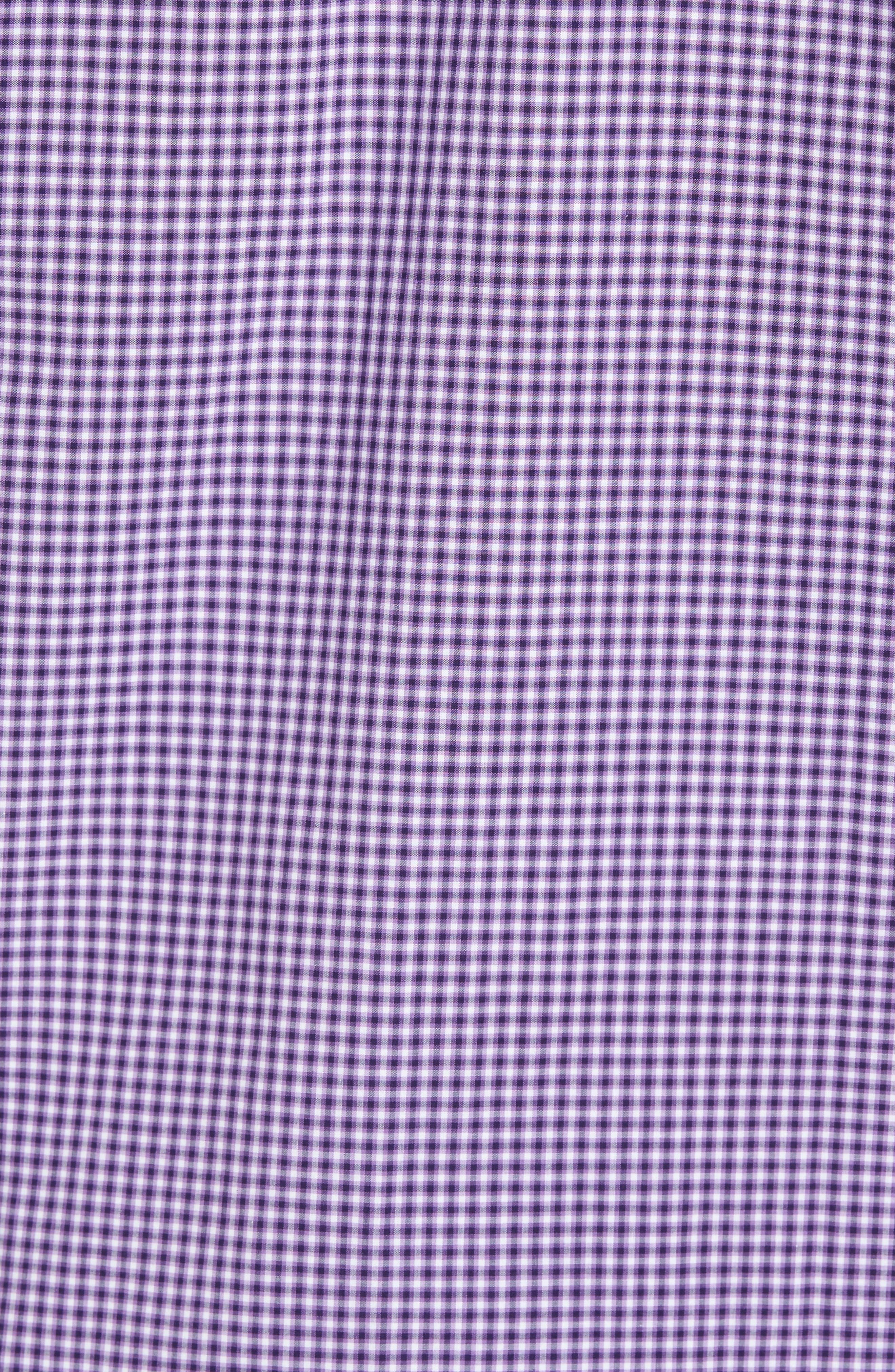 Pawlata Slim Fit Check Sport Shirt,                             Alternate thumbnail 5, color,                             500