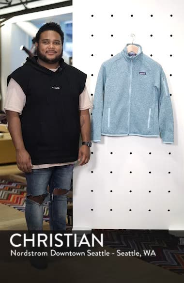 'BetterSweater' Jacket, sales video thumbnail