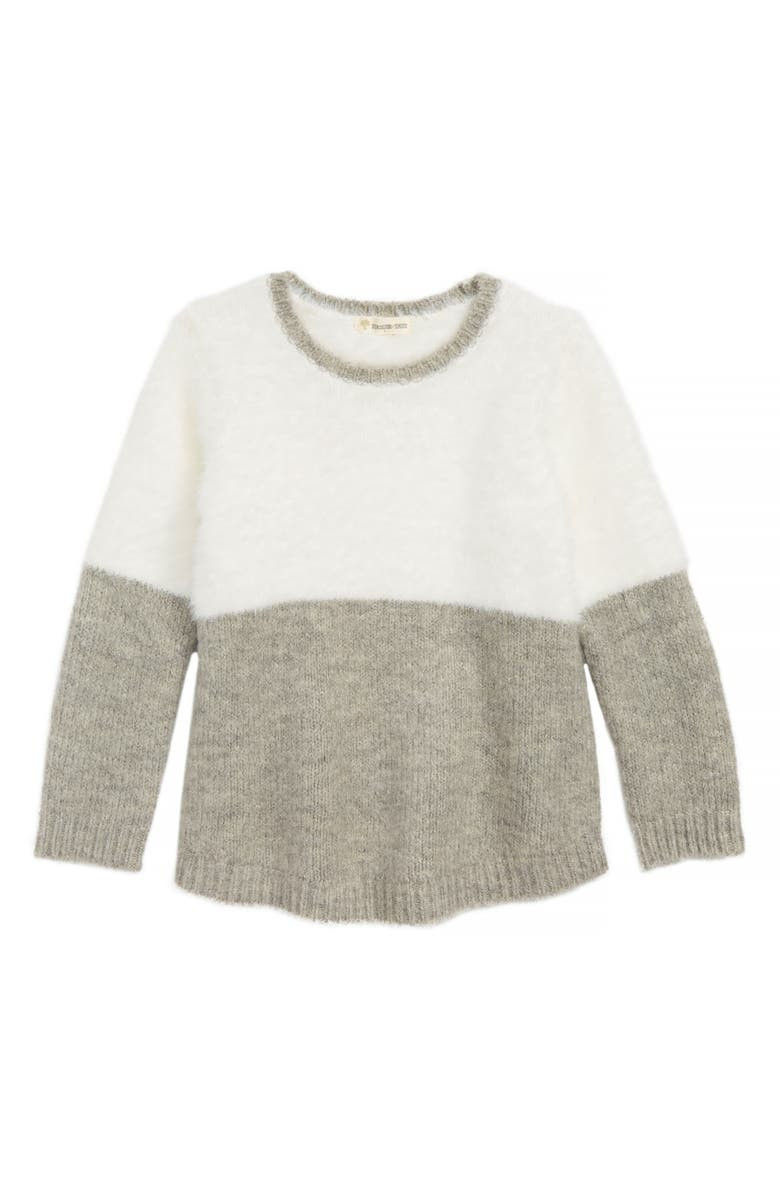 3ae3dd8ce Tucker + Tate Fuzzy Colorblock Sweater (Toddler Girls