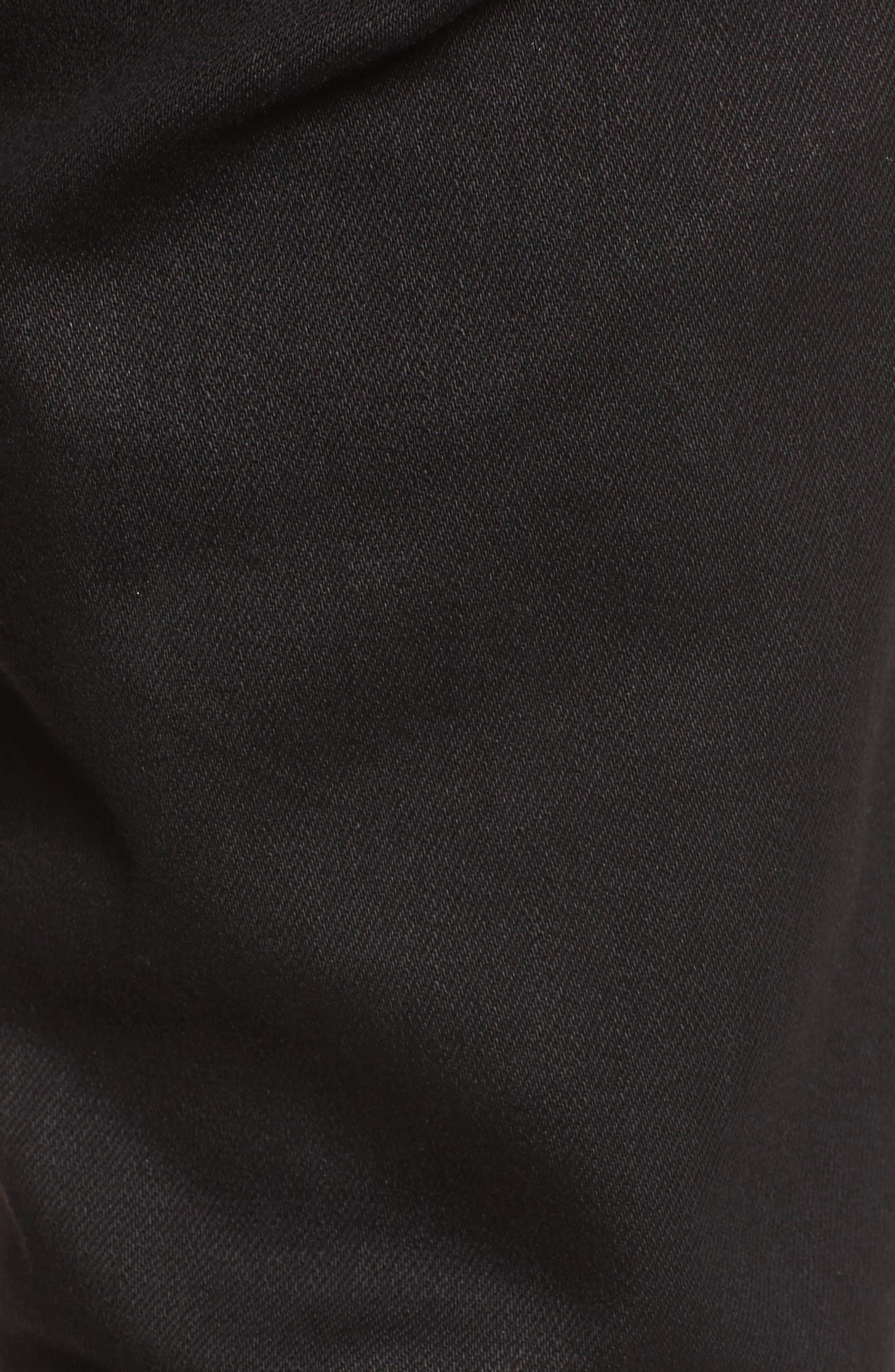 Destroyer Slim Fit Jeans,                             Alternate thumbnail 5, color,                             001