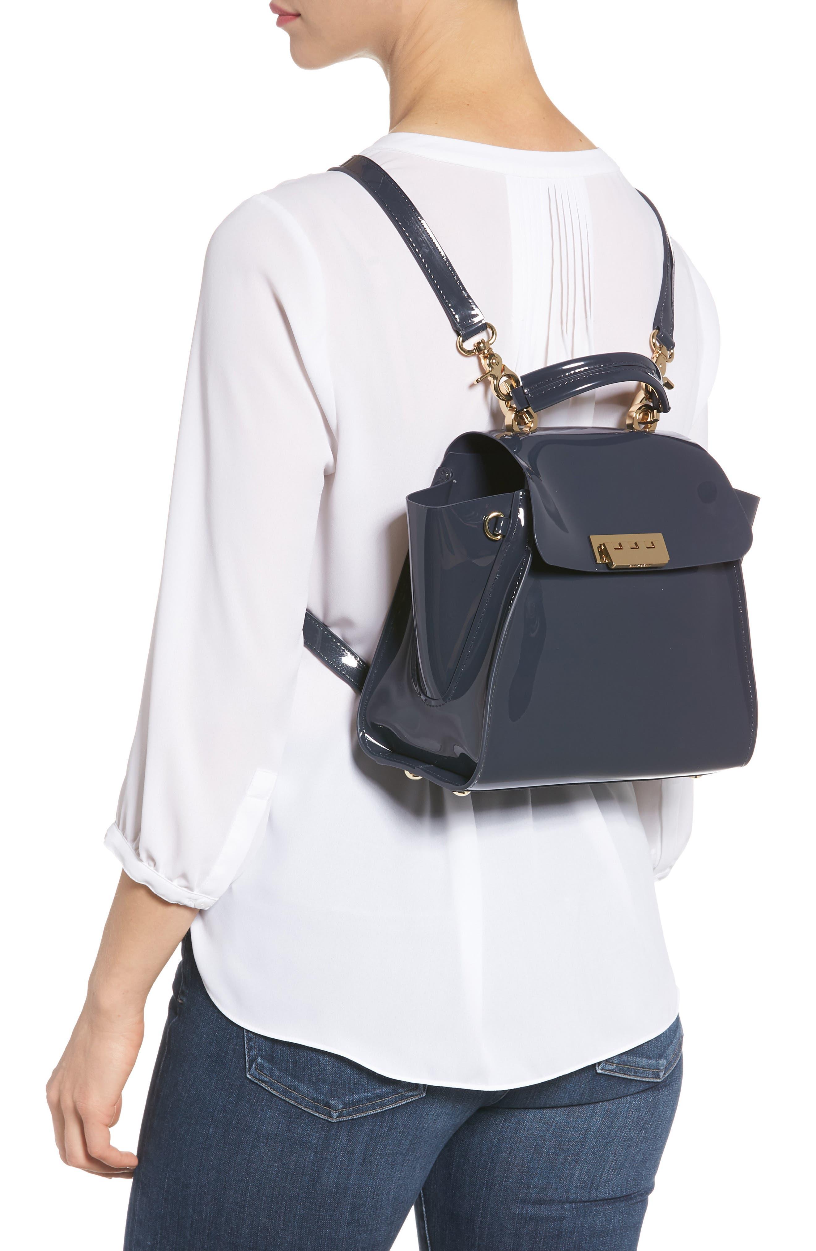 Eartha Iconic Convertible Backpack,                             Alternate thumbnail 2, color,                             NAVY