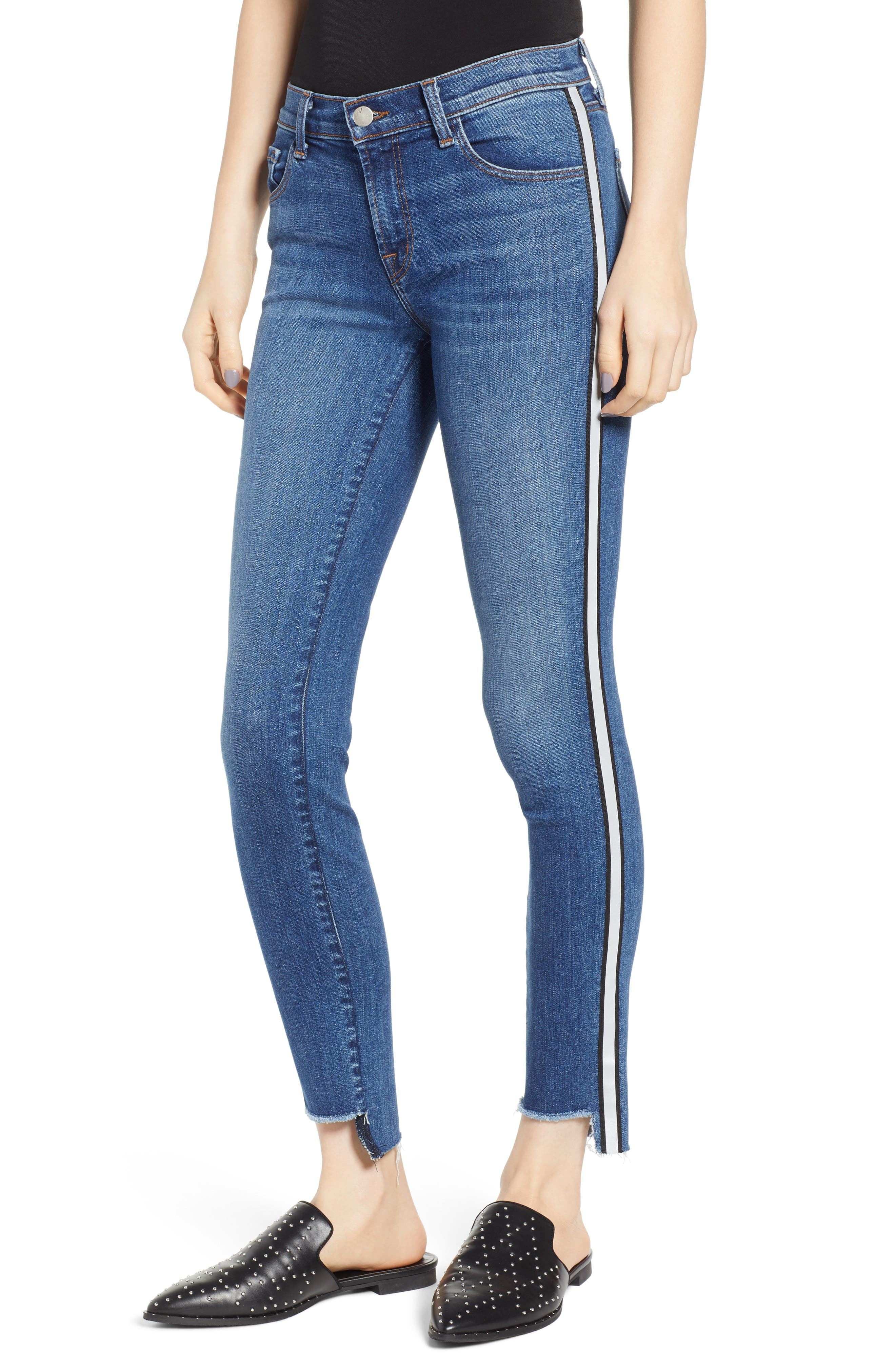 811 Skinny Jeans, Main, color, REFLECTING