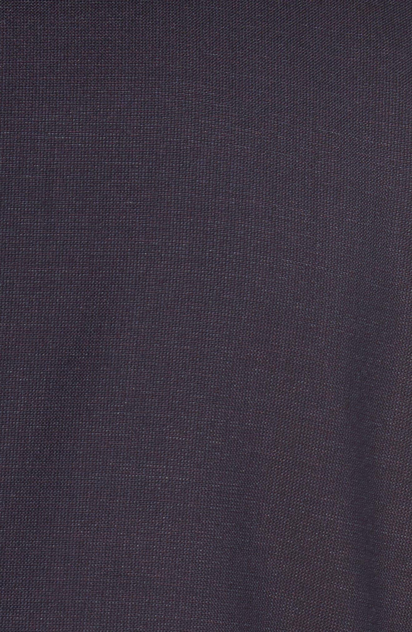 Huge/Genius Trim Fit Wool Suit,                             Alternate thumbnail 7, color,                             606