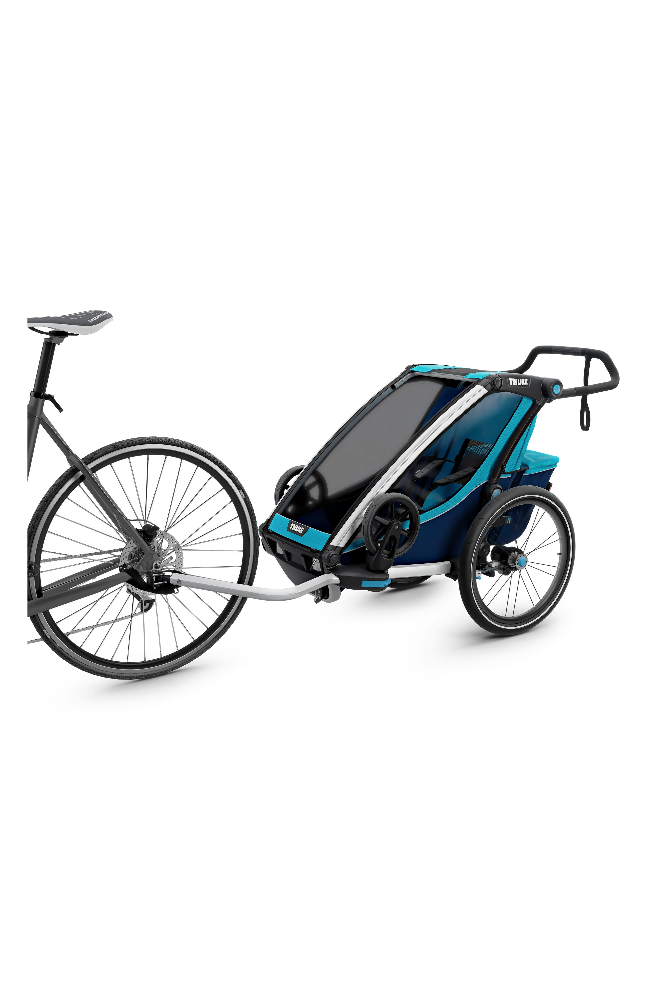 Chariot Cross 1 Multisport Cycle Trailer/Stroller,                             Alternate thumbnail 2, color,                             THULE BLUE