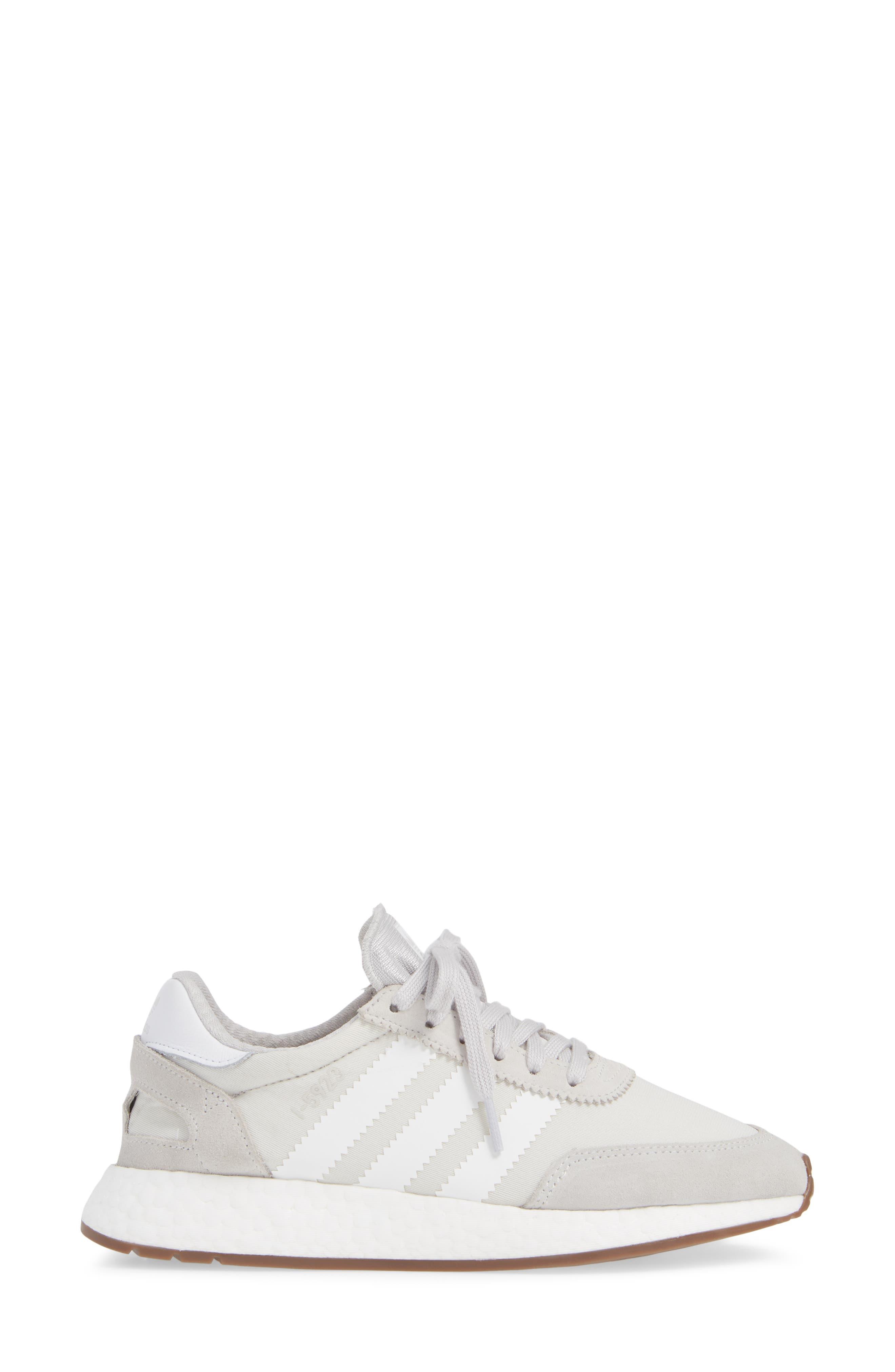 I-5923 Sneaker,                             Alternate thumbnail 3, color,                             GREY ONE/ WHITE/ GREY FIVE