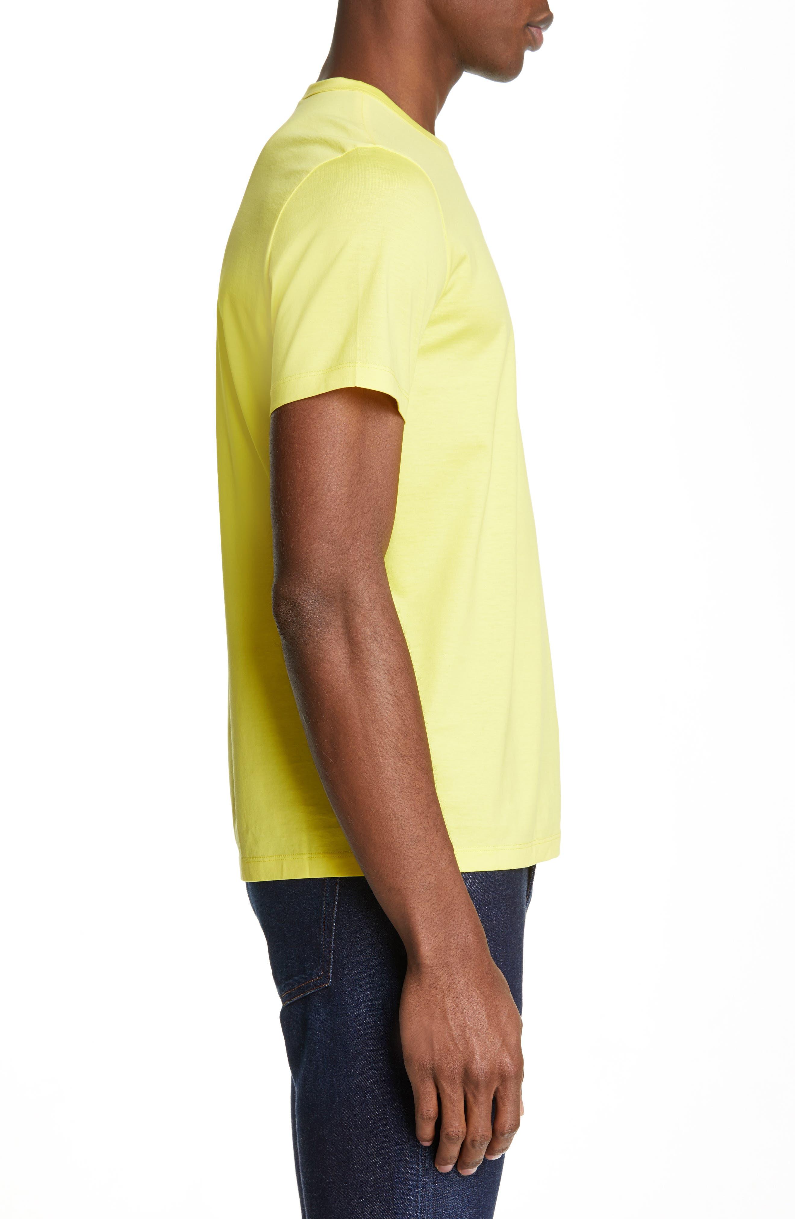 Neon T-Shirt,                             Alternate thumbnail 3, color,                             NEON YELLOW