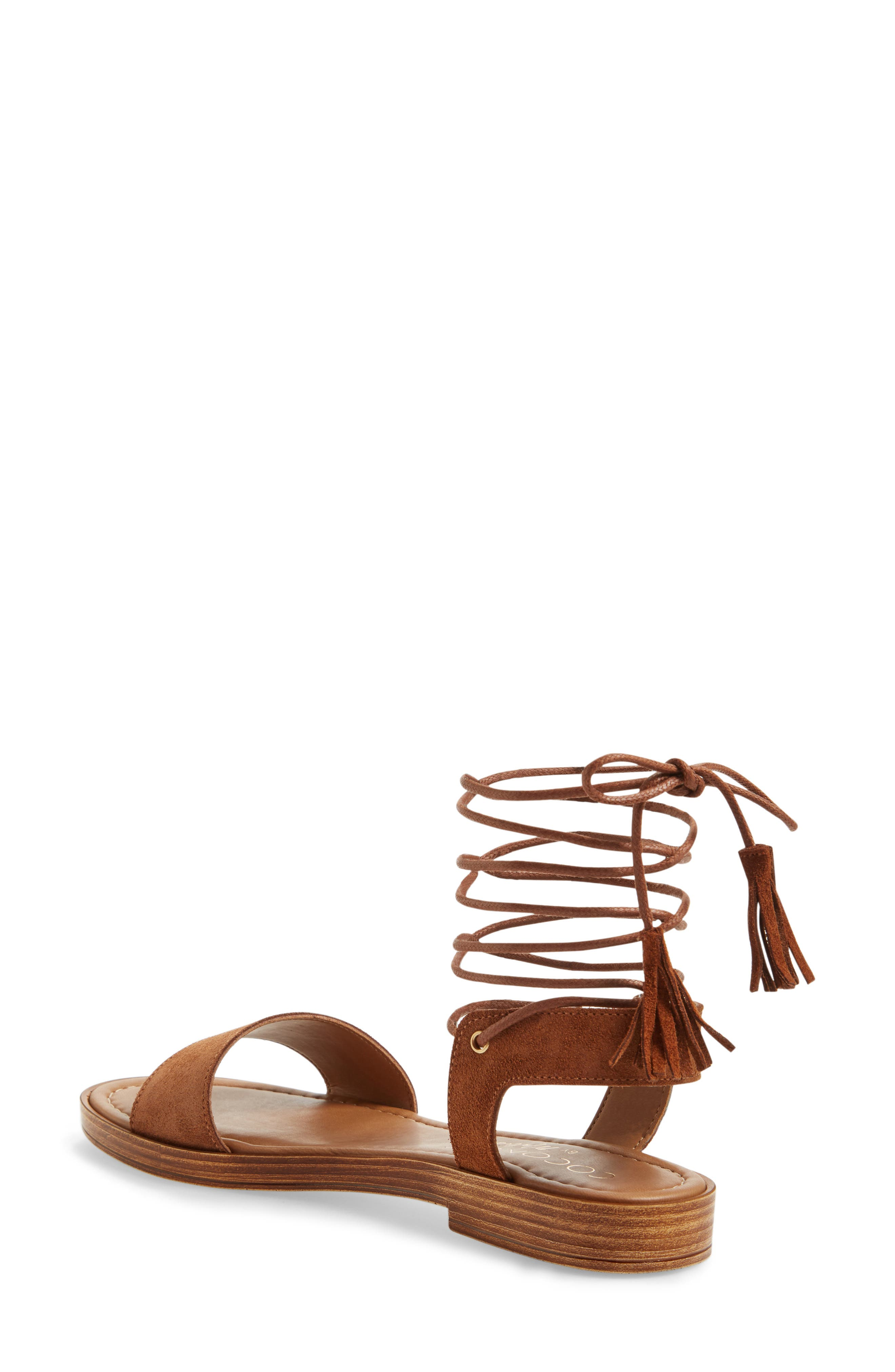 Sting Wraparound Lace Sandal,                             Alternate thumbnail 2, color,                             238