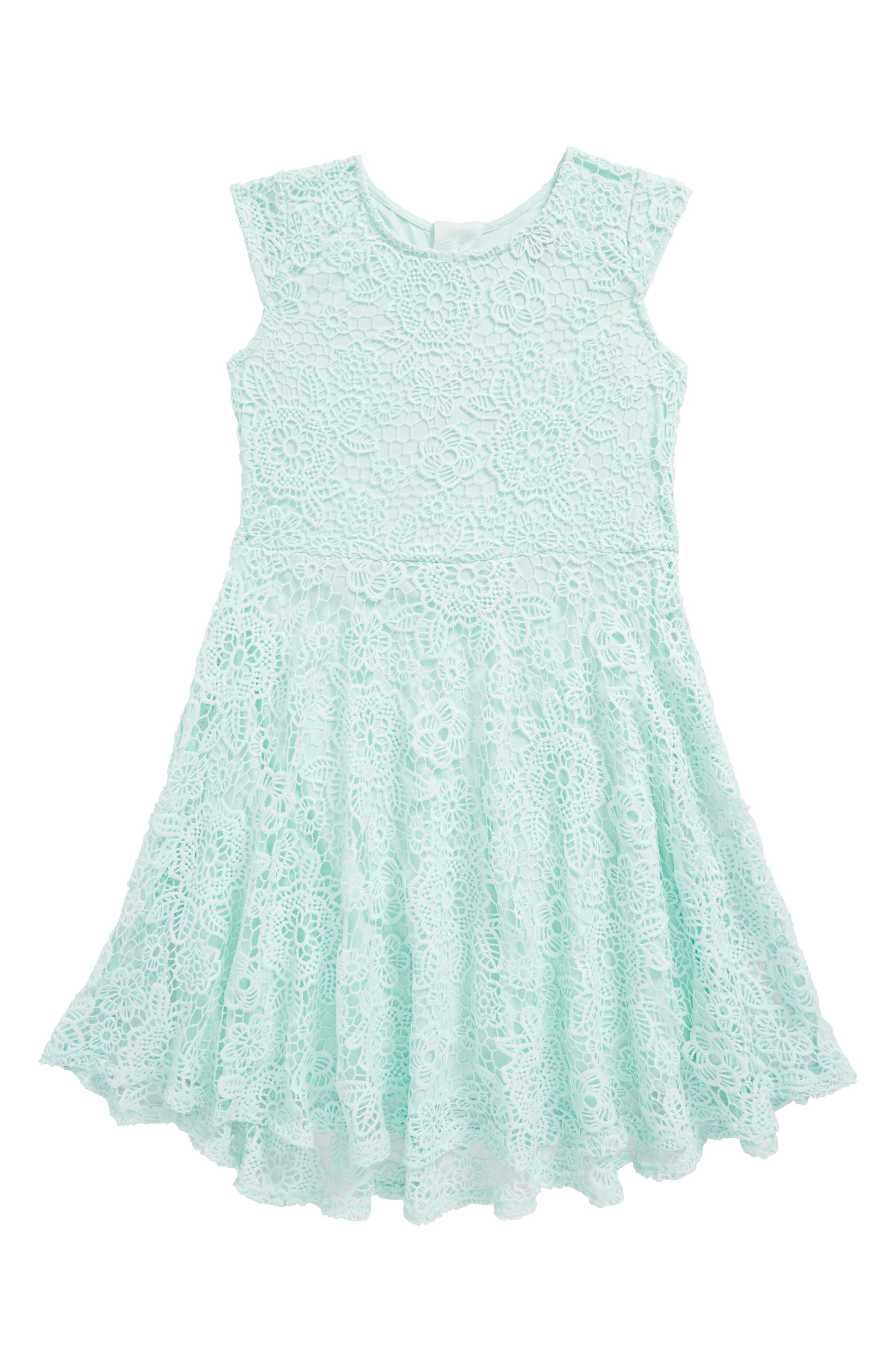 Crochet Skater Dress,                             Main thumbnail 1, color,                             331