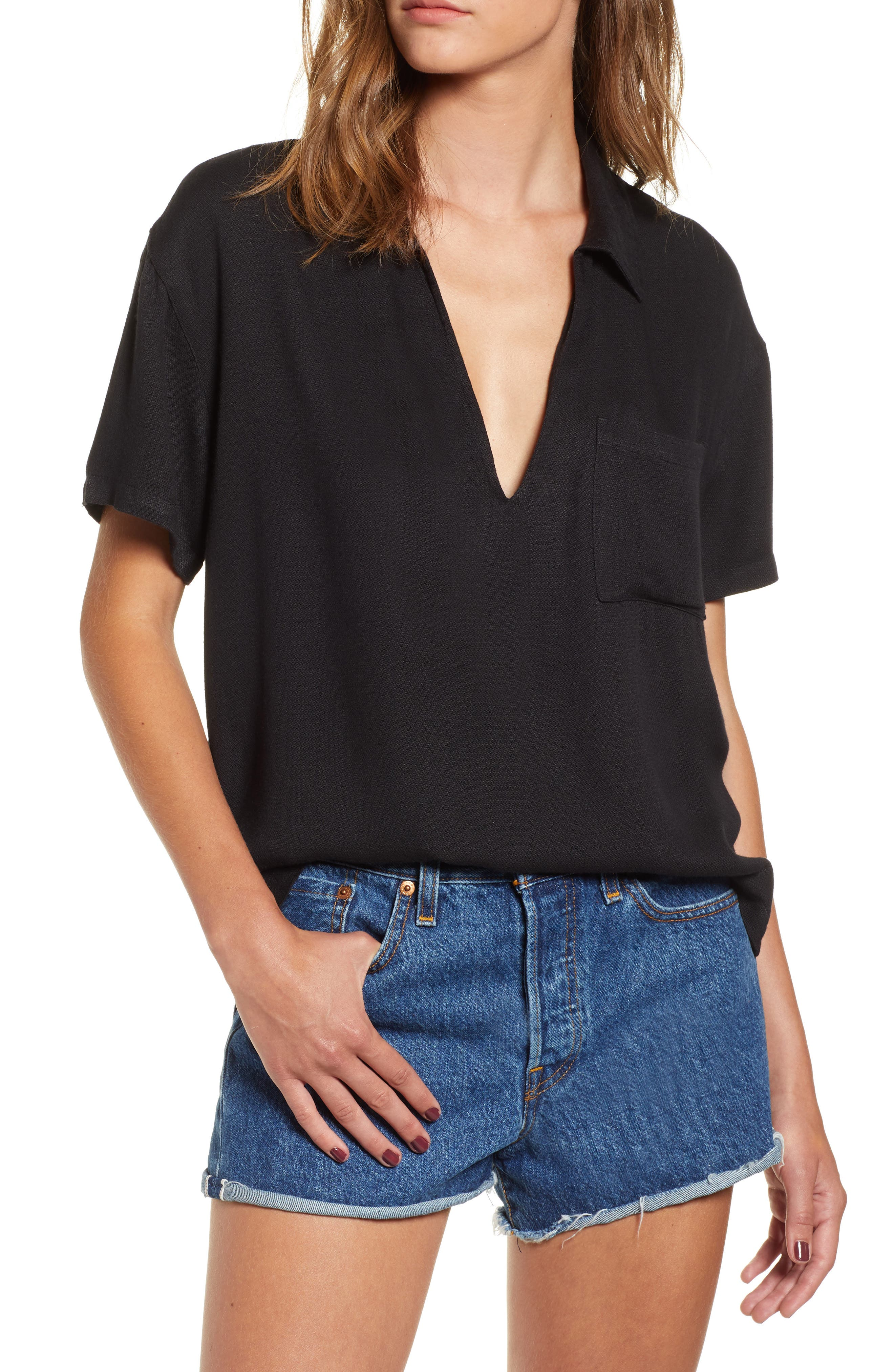 Extract Top,                         Main,                         color, BLACK