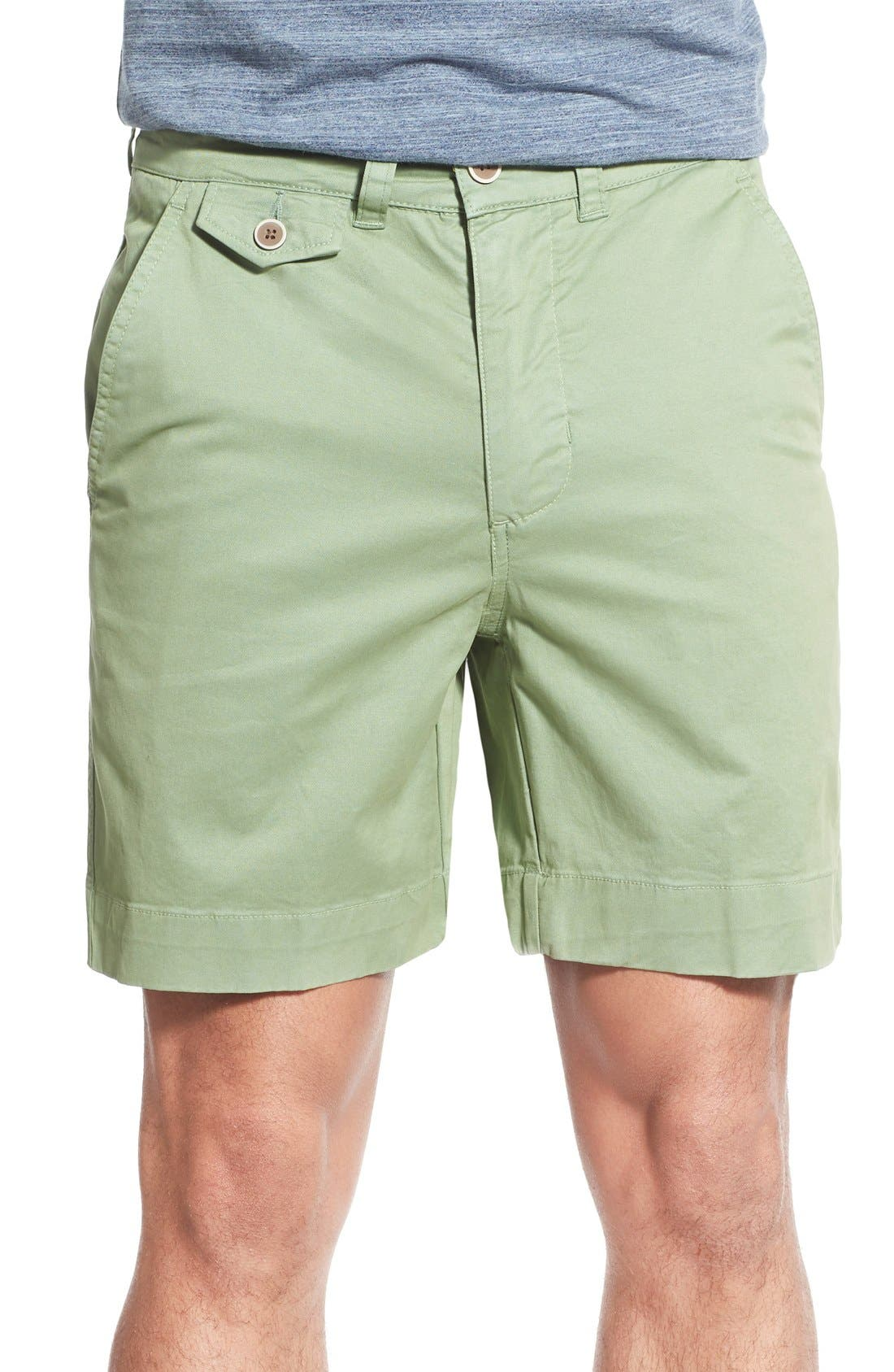 'Sunny' Stretch Twill Chino Shorts,                             Main thumbnail 2, color,