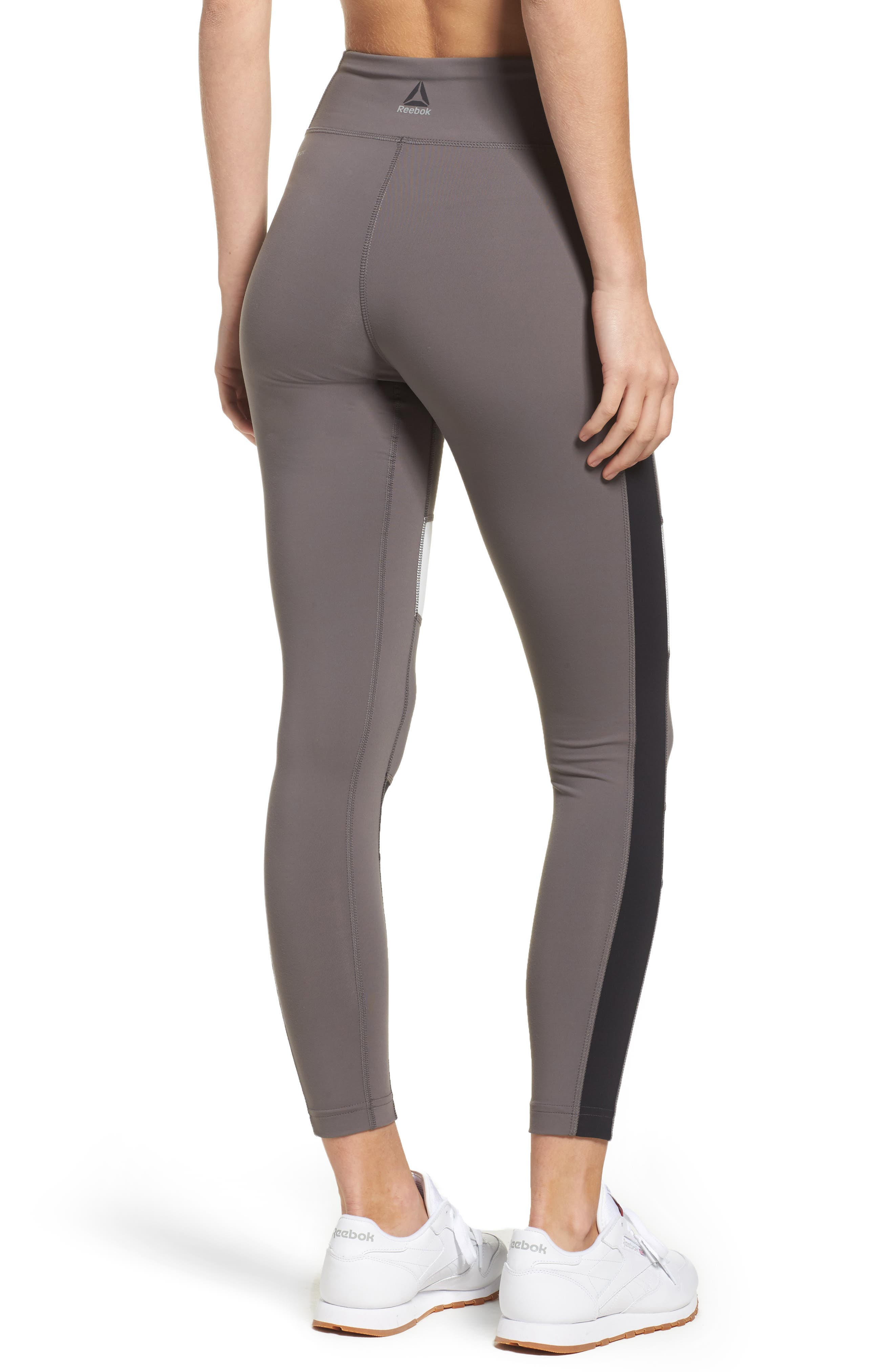 Lux Colorblock Tights,                             Alternate thumbnail 2, color,                             024