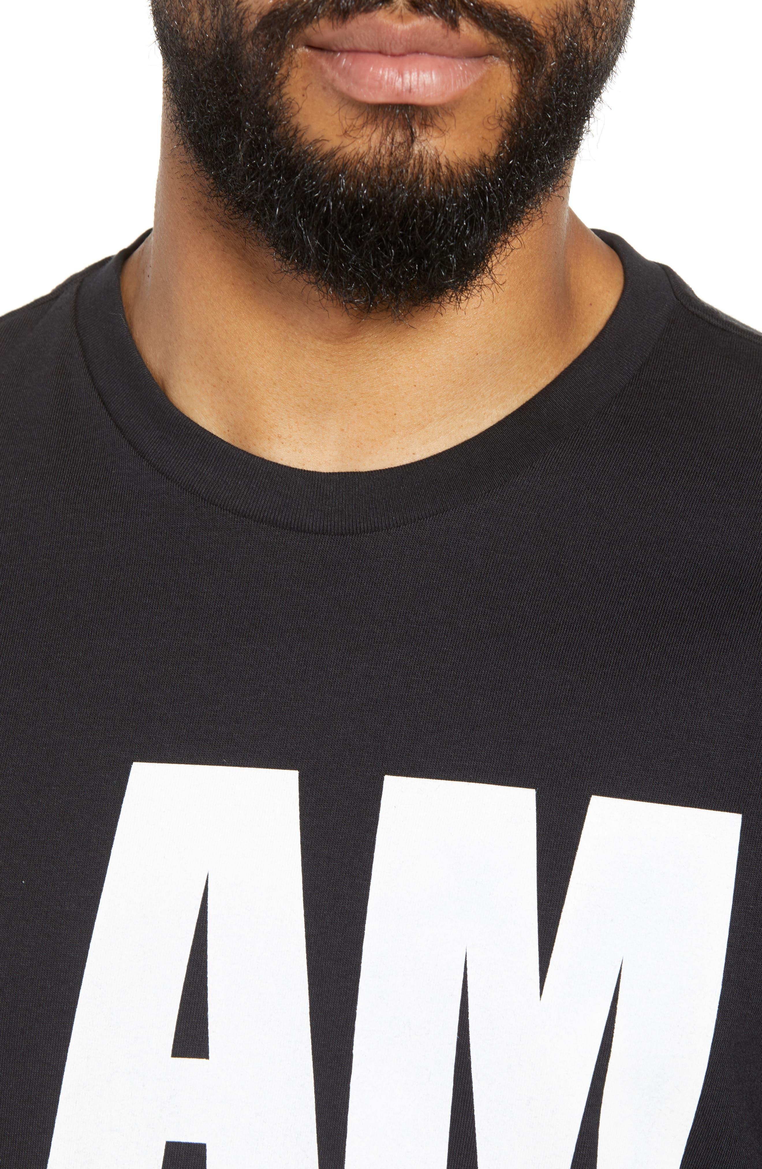 Community T-Shirt,                             Alternate thumbnail 4, color,                             I AM RAINBOW GRADIENT BLACK