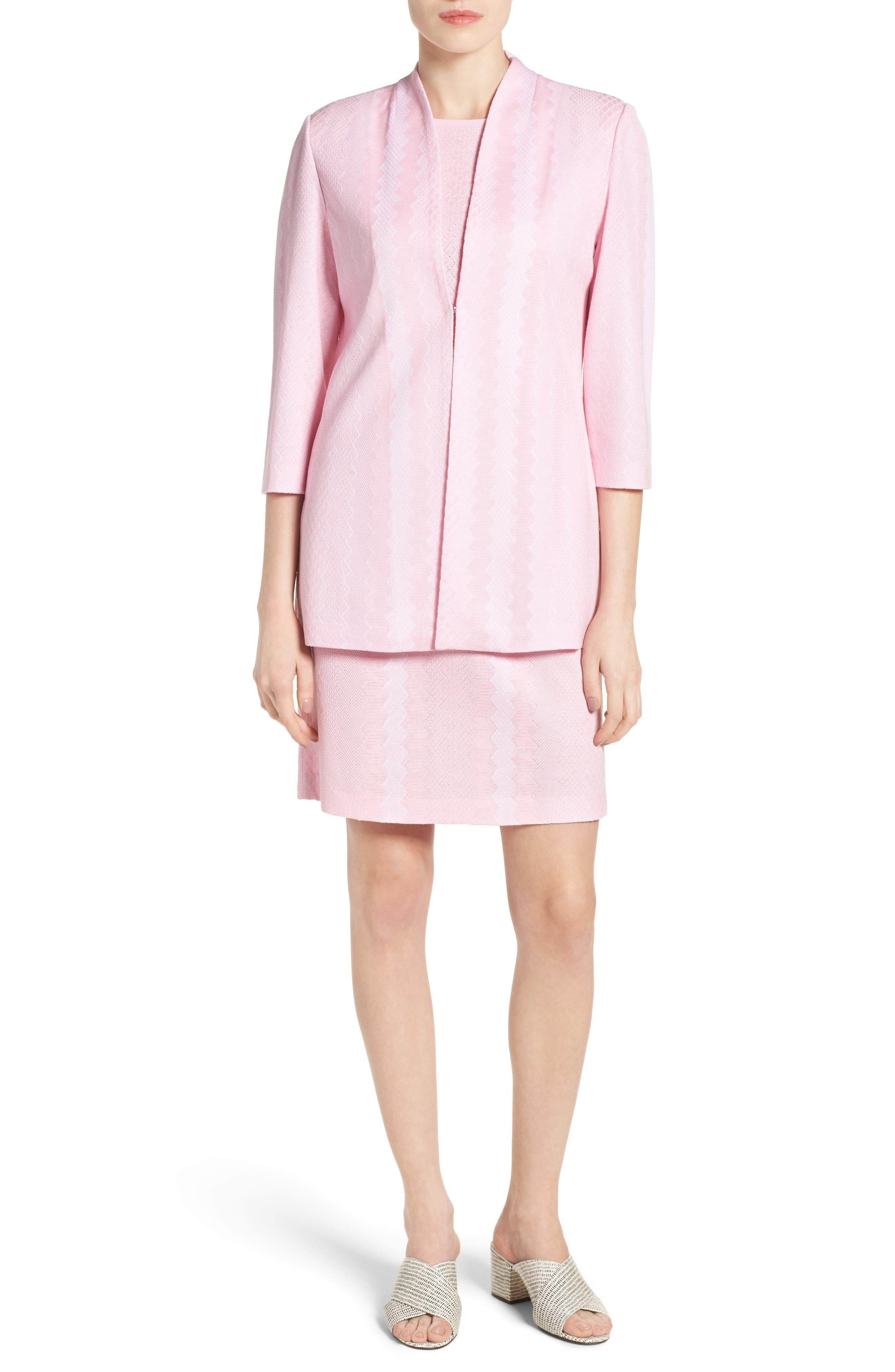 Sleeveless Knit Sheath Dress,                             Alternate thumbnail 5, color,                             688