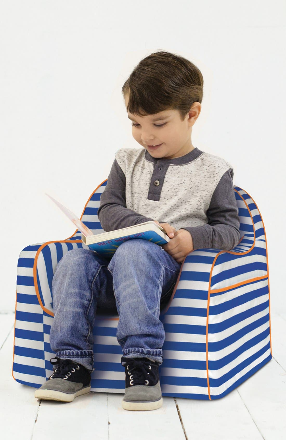 'Personalized Little Reader' Chair,                             Alternate thumbnail 2, color,                             405