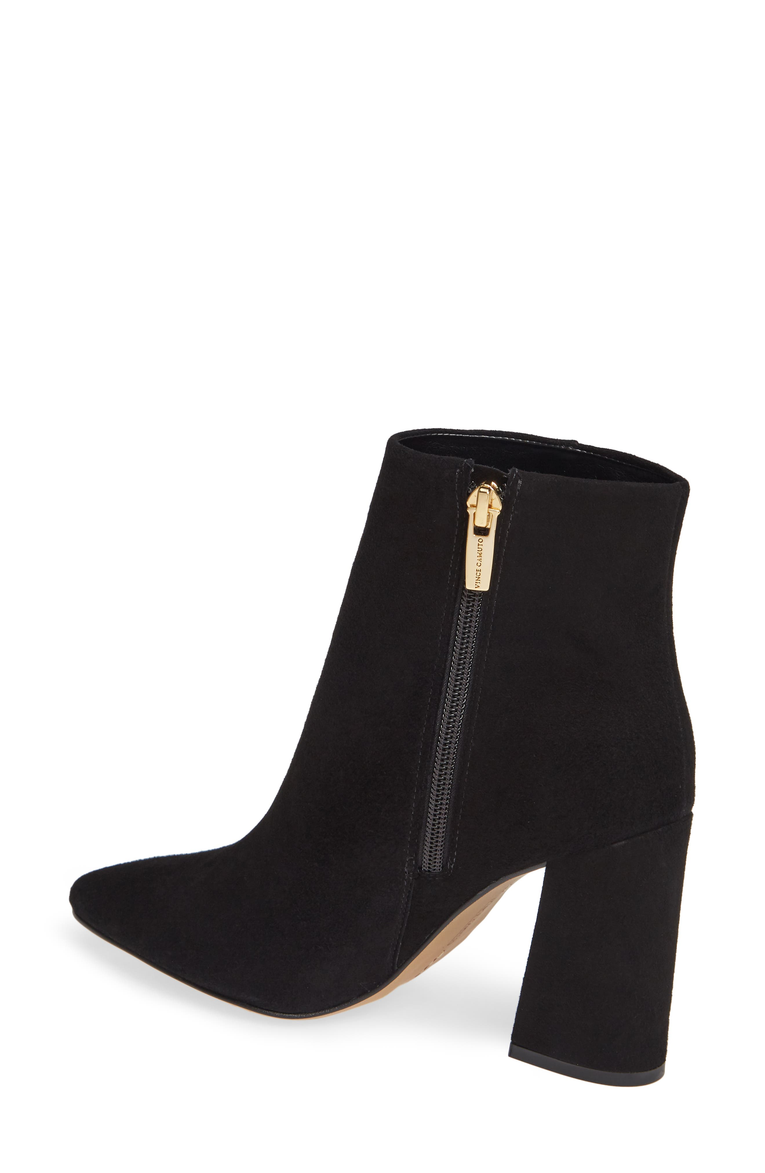 VINCE CAMUTO,                             Thelmin Genuine Calf Hair Bootie,                             Alternate thumbnail 2, color,                             003