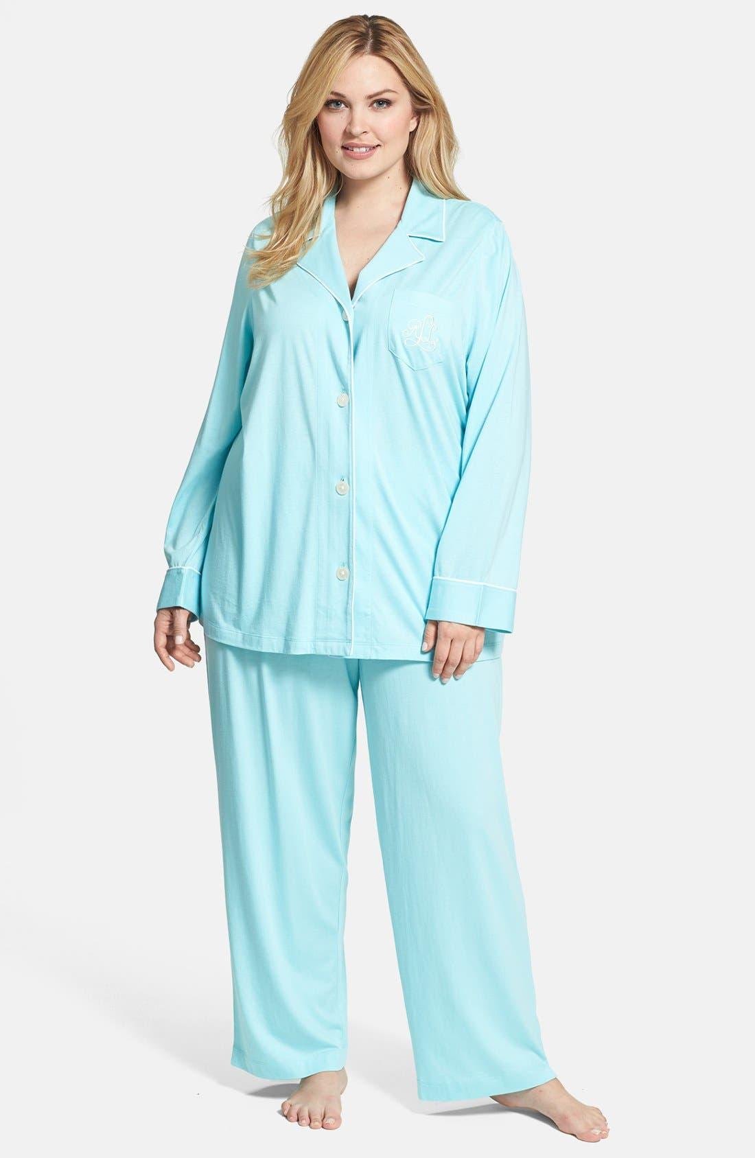 Knit Pajamas,                             Main thumbnail 6, color,