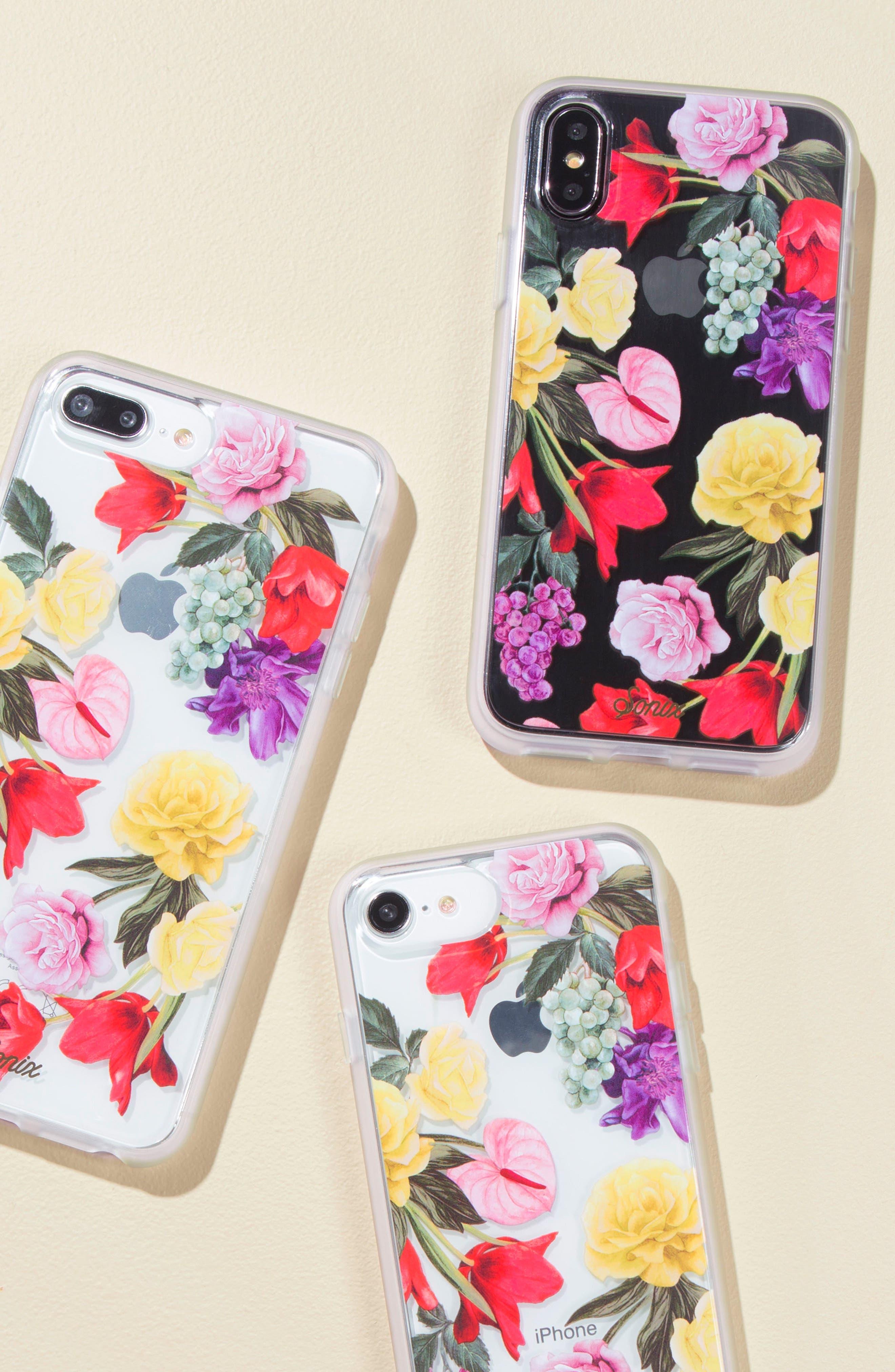 Terrazzo Mint iPhone 6/6s/7/8 & 6/6s/7/8 Plus Case,                             Alternate thumbnail 3, color,                             300