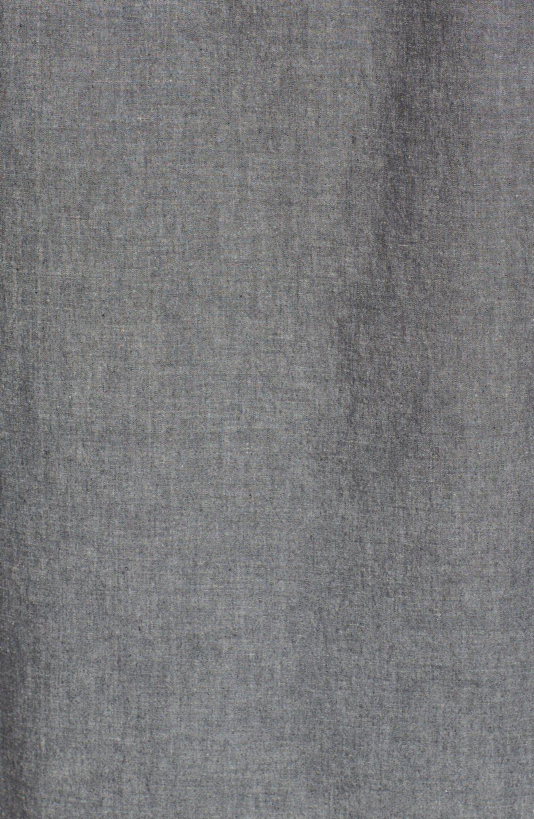 Trim Fit Chambray Shirt,                             Alternate thumbnail 2, color,                             020