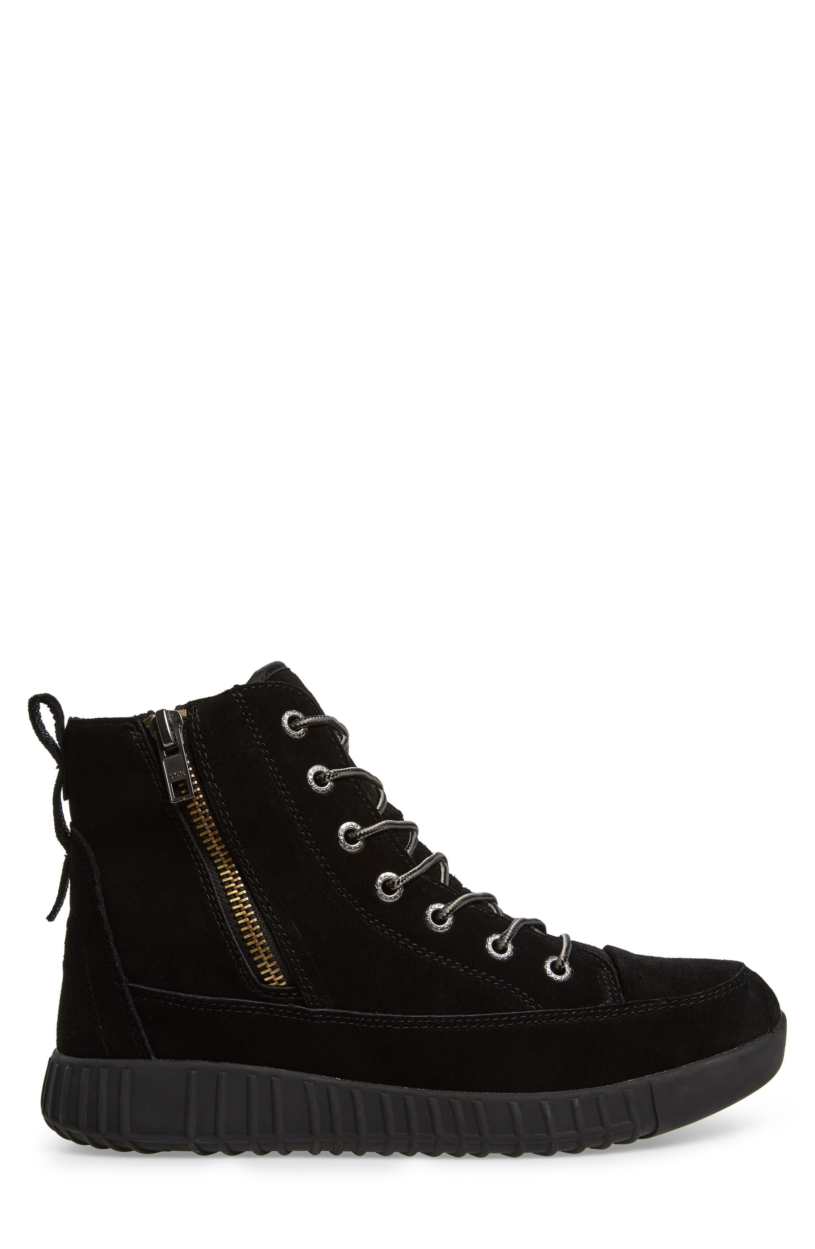 PAJAR,                             Parnell Waterproof Winter Sneaker,                             Alternate thumbnail 3, color,                             001