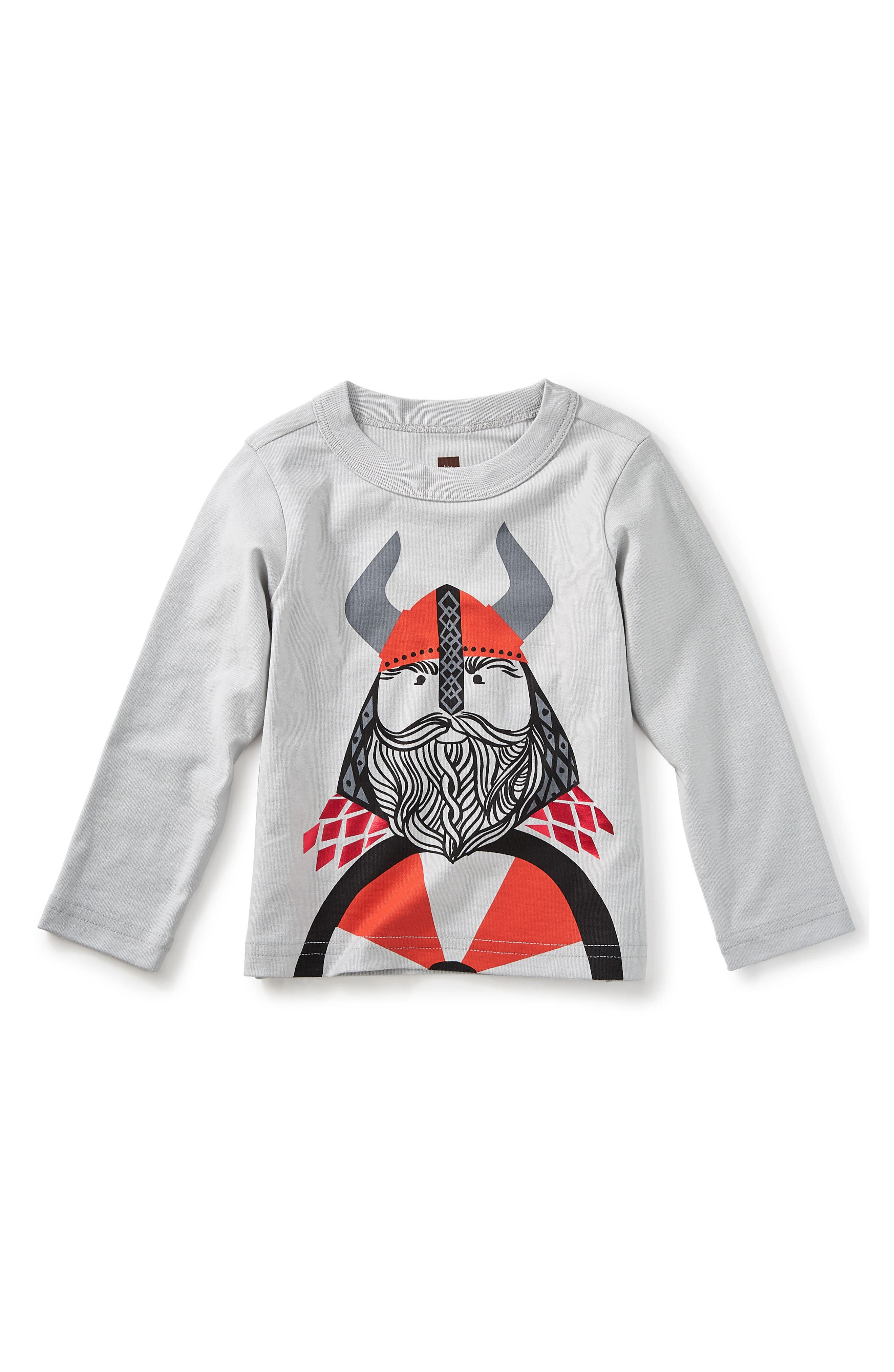 Little Viking Graphic T-Shirt,                             Main thumbnail 1, color,                             020