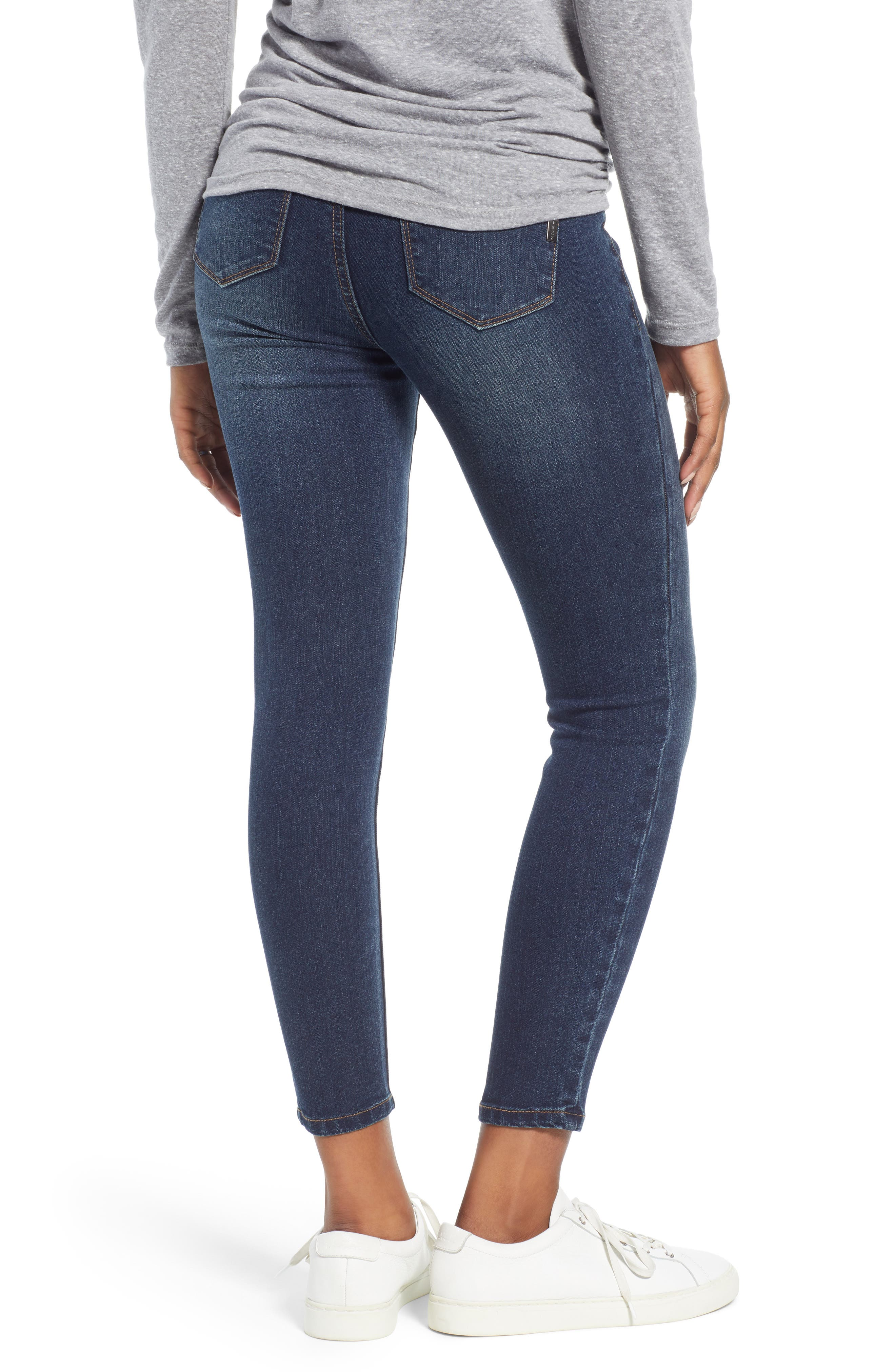 Ankle Skinny Maternity Jeans,                             Alternate thumbnail 2, color,                             406