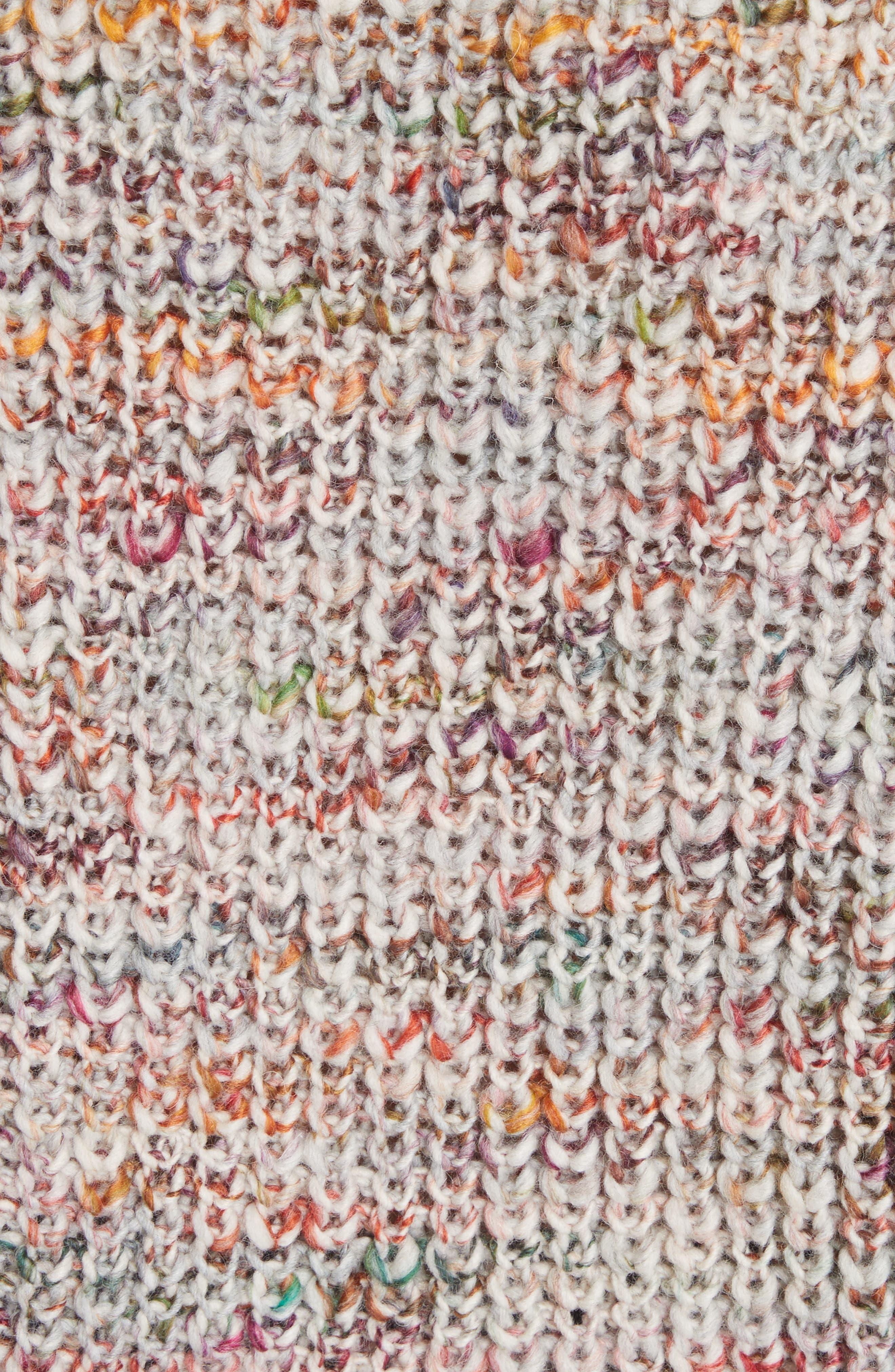 Zora Multi Sweater,                             Alternate thumbnail 5, color,                             100