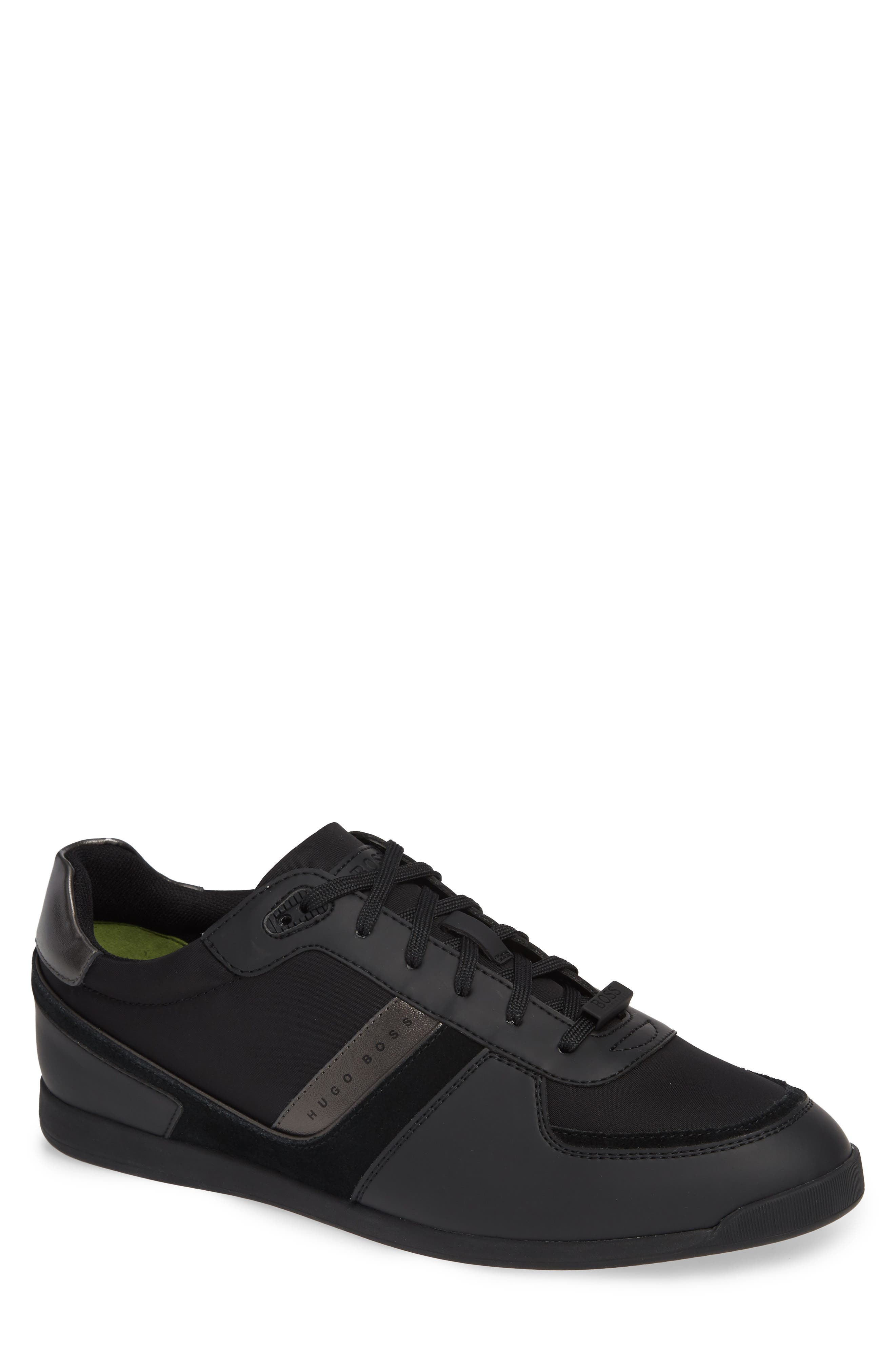 Maze Sneaker,                             Main thumbnail 1, color,                             BLACK