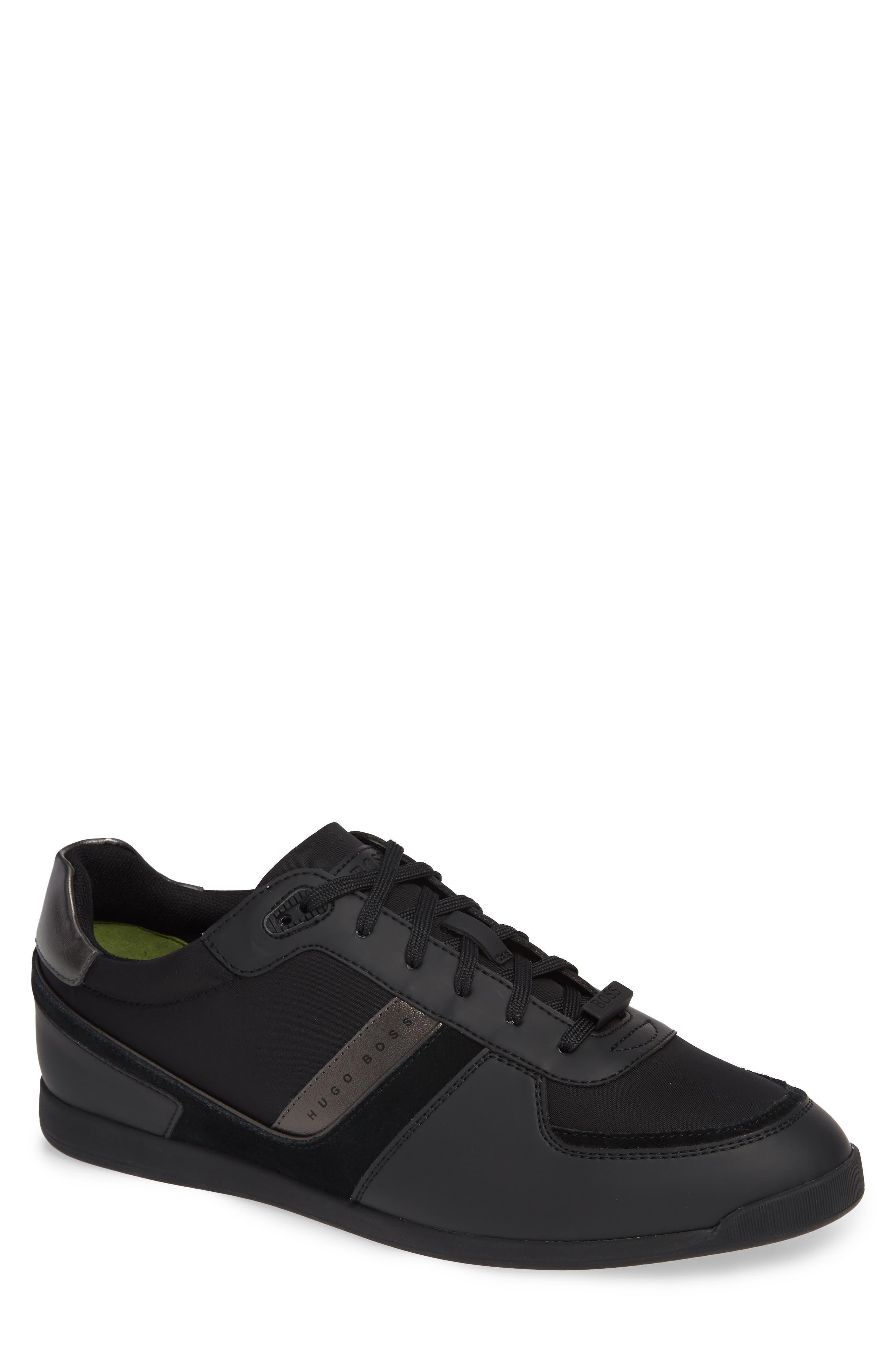 Maze Sneaker,                         Main,                         color, BLACK