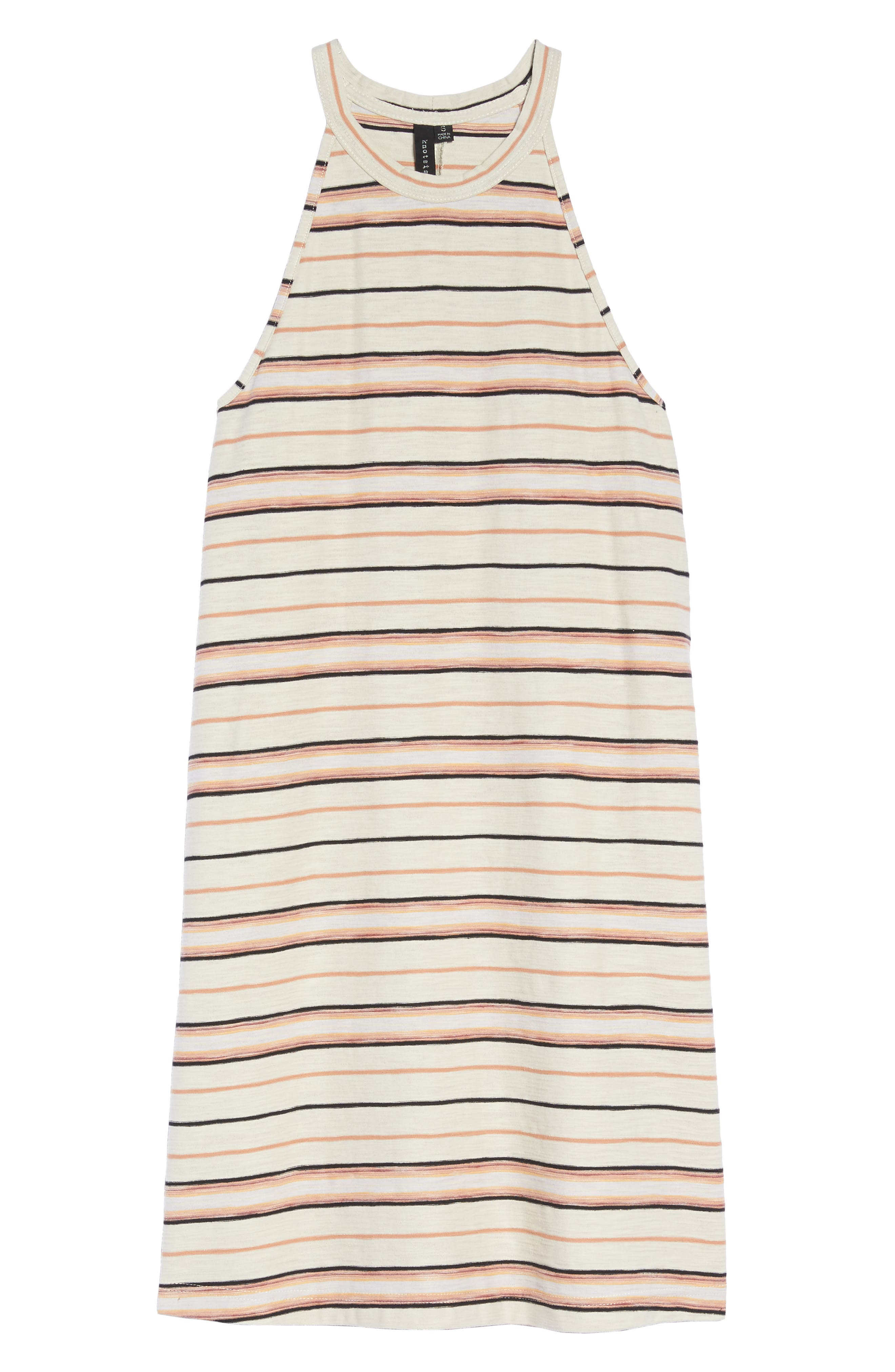 Field Day Stripe Dress,                             Alternate thumbnail 6, color,